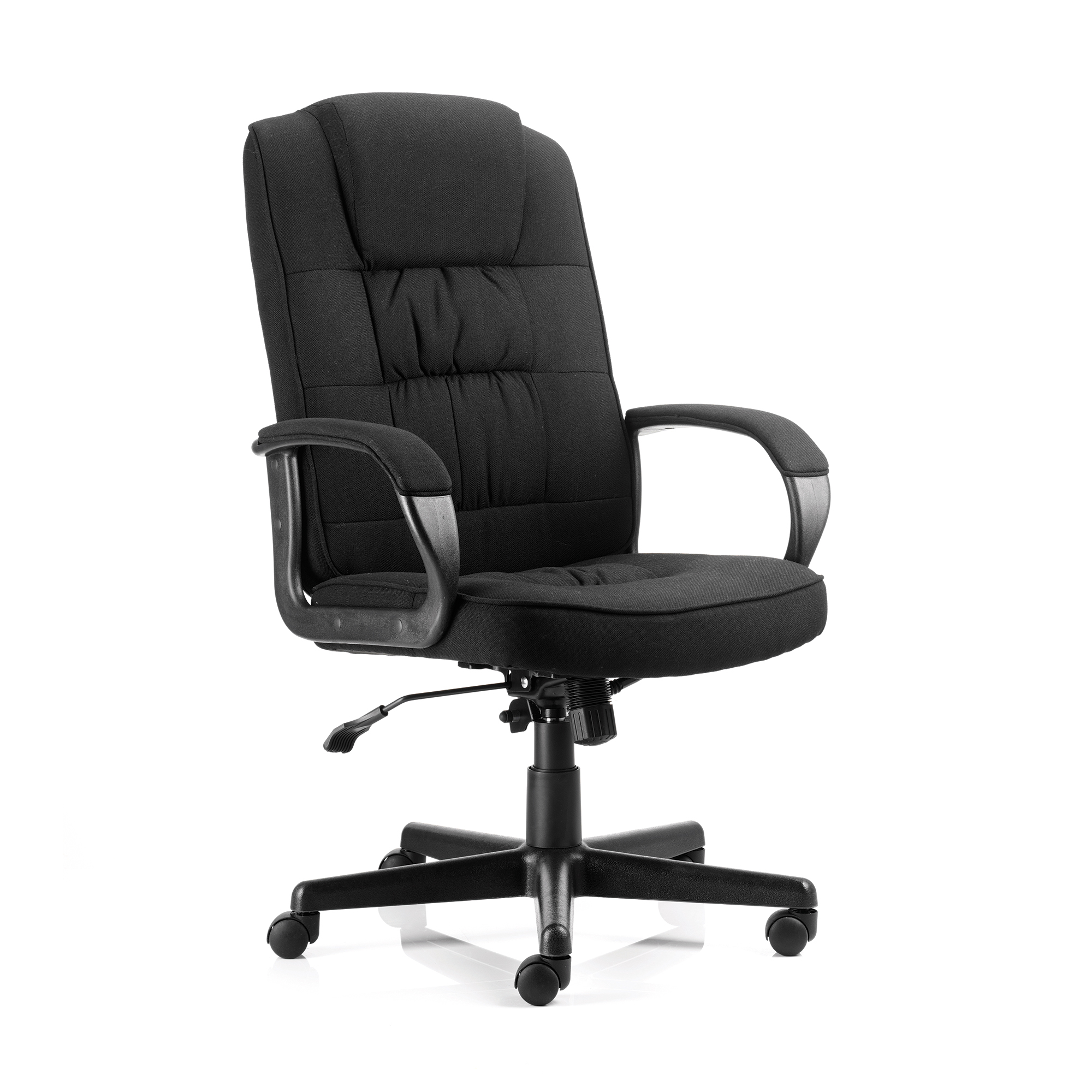 Executive seating Trexus Moore Executive Chair With Arms Fabric Black Ref EX000043