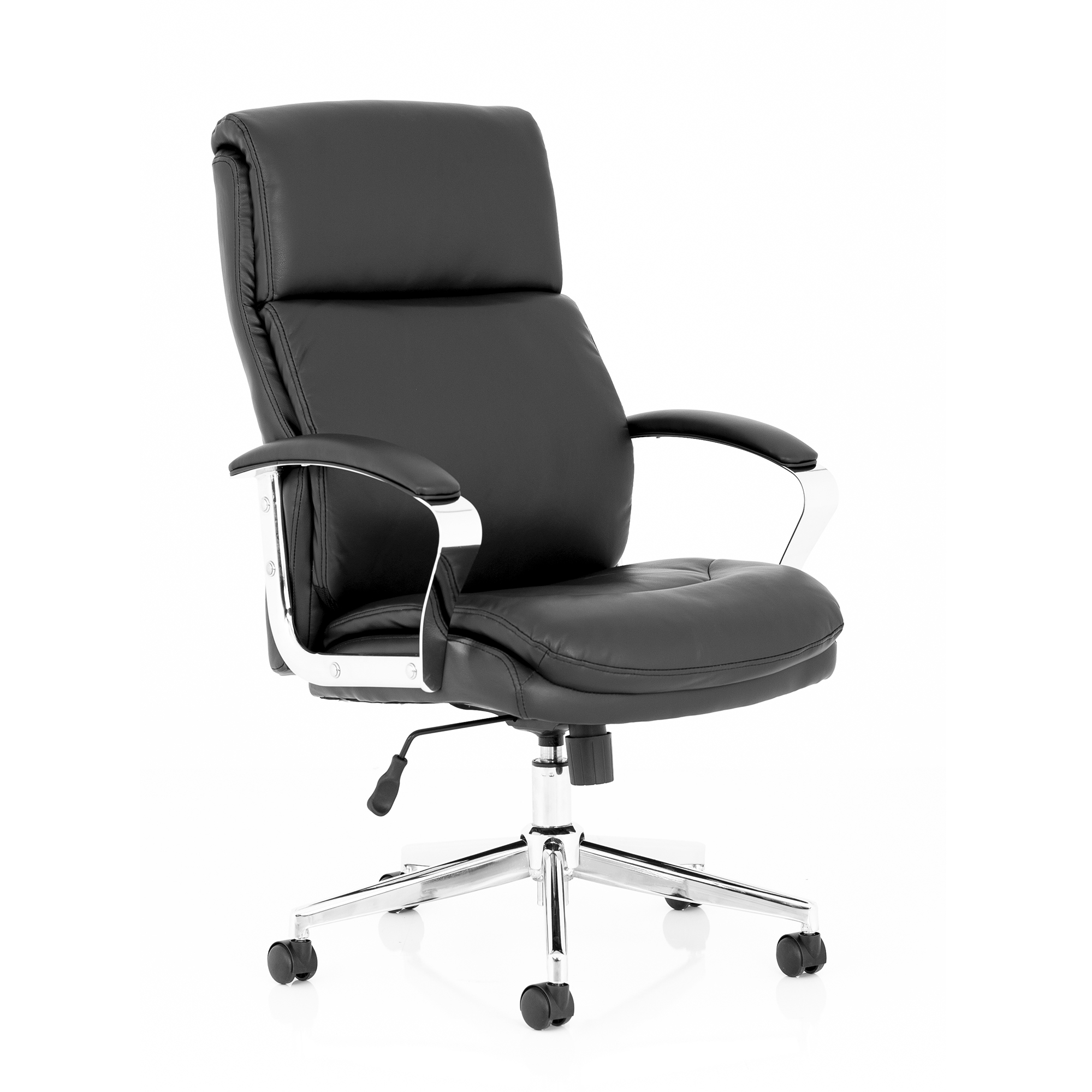 Executive seating Trexus Tunis Executive Chair Bonded Leather Black Ref EX000210