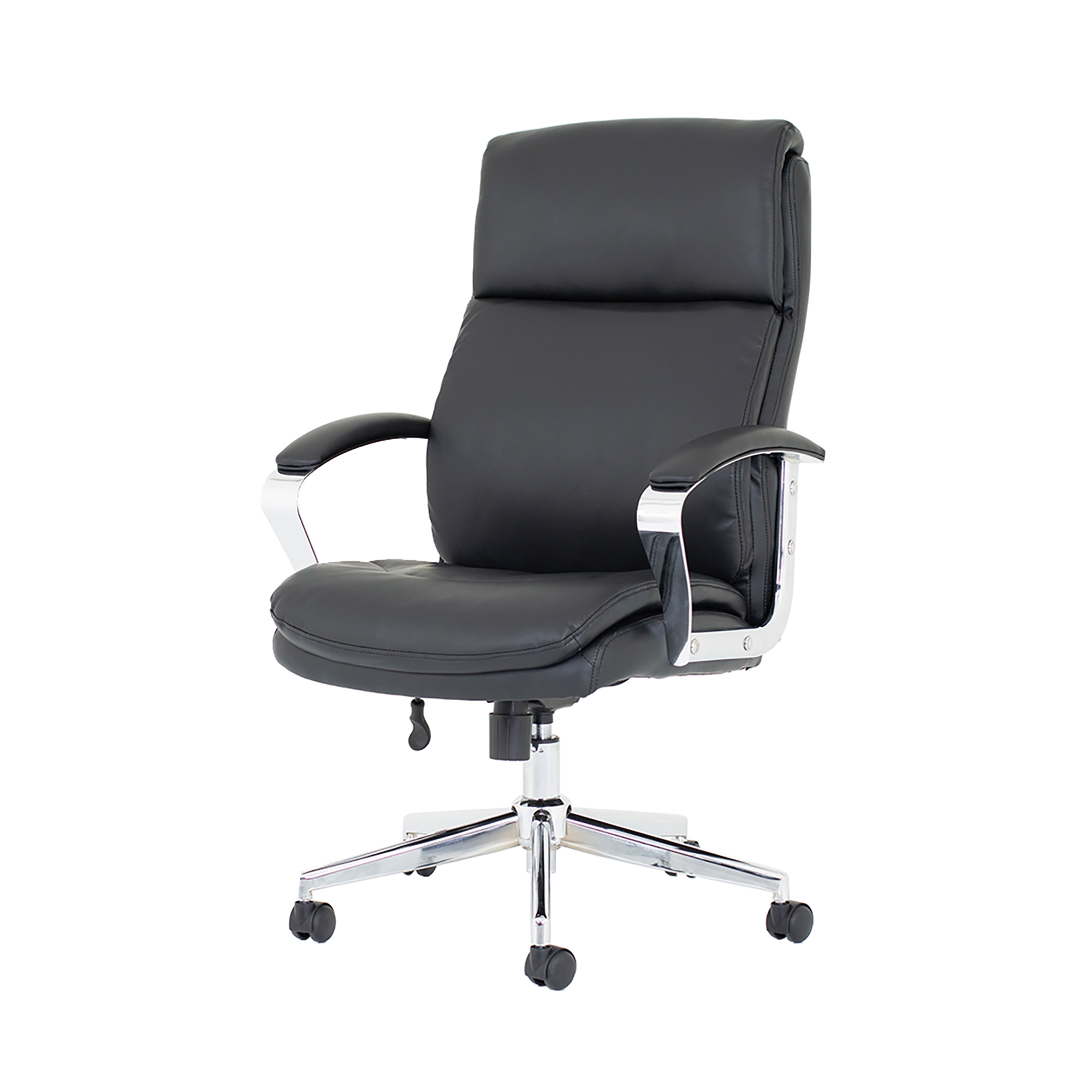 Trexus Tunis Executive Chair Bonded Leather Black Ref EX000210
