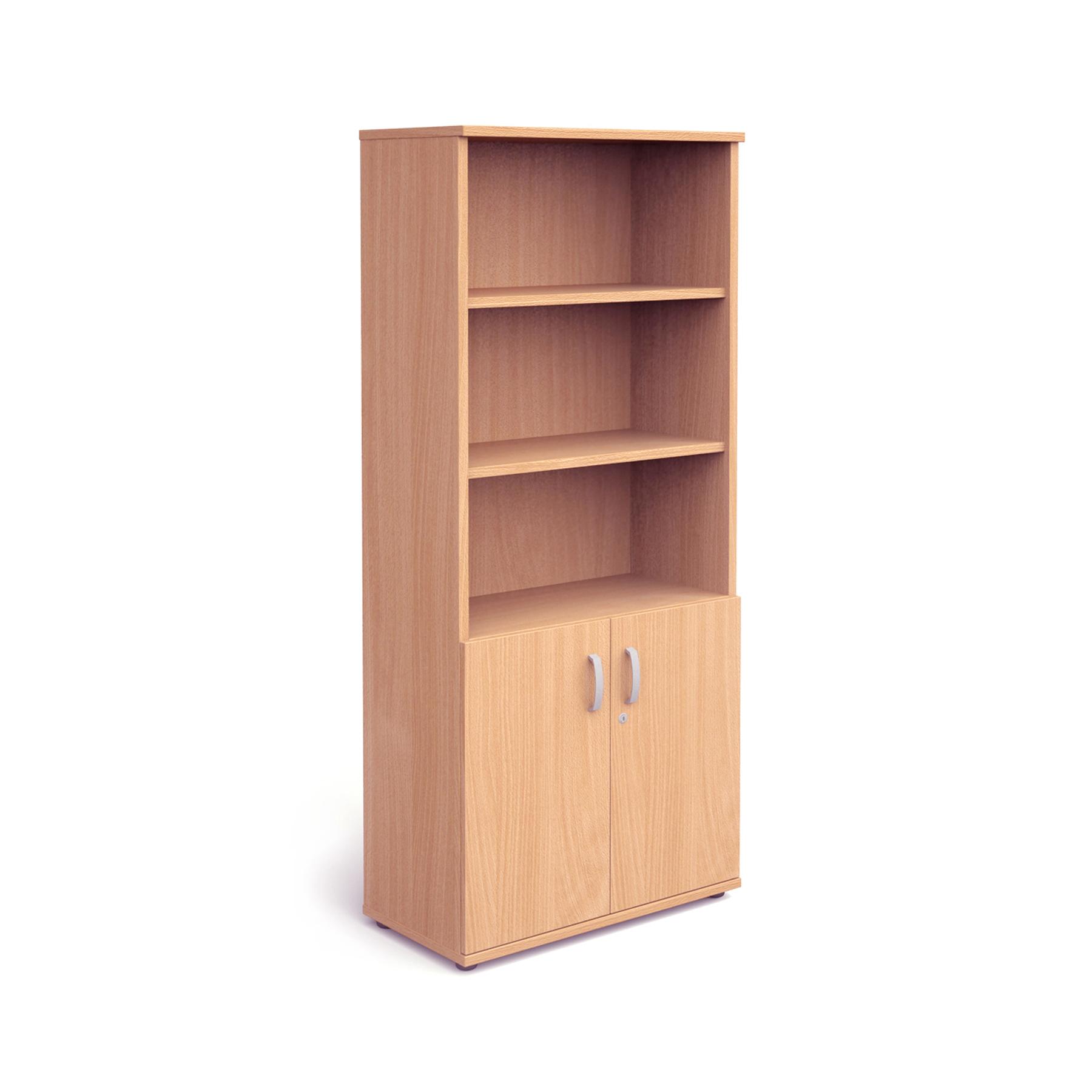 Trexus Cupboard Open Shelves 2000x800x400mm Beech Ref I000047