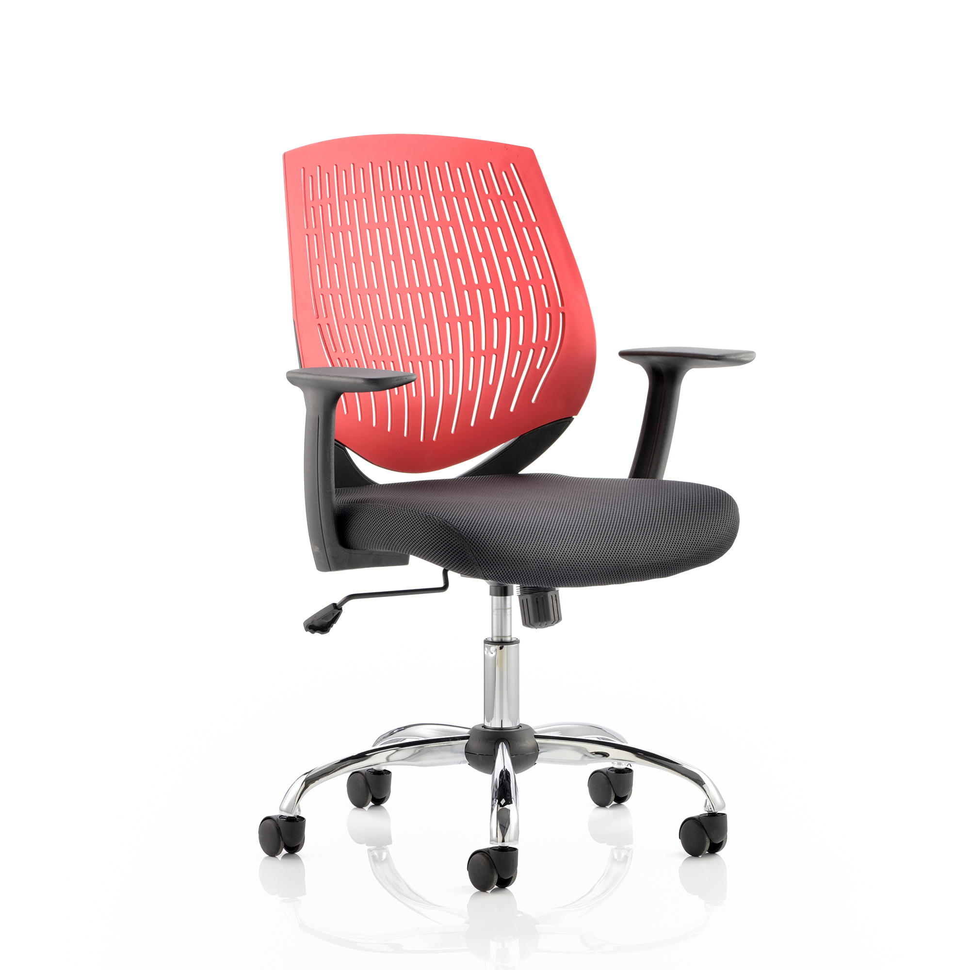 Guest seating Trexus Dura Task Operator Chair With Arms Red Ref OP000020