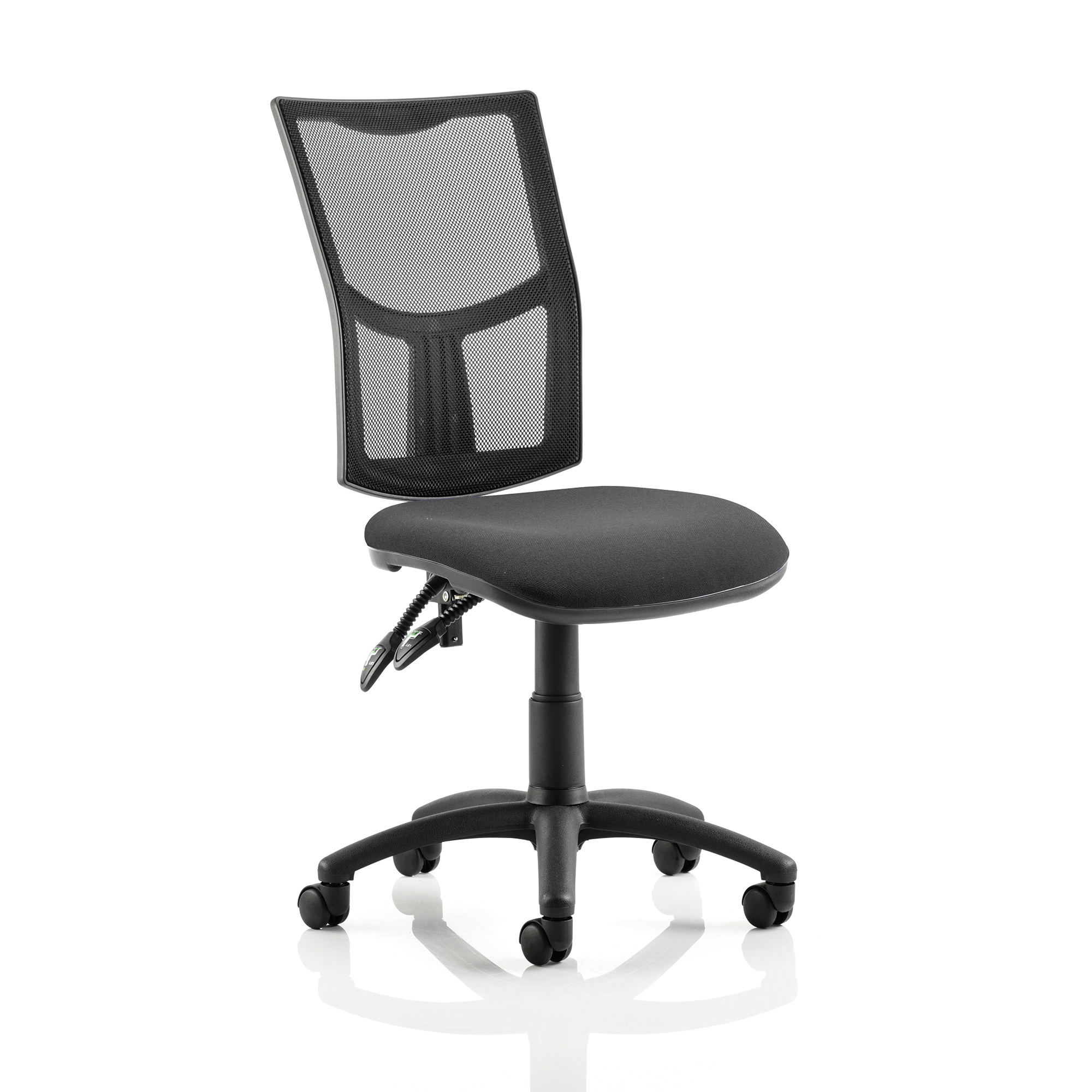 Trexus Eclipse II Lever Task Operator Chair Mesh Back Seat Black Ref KC0167