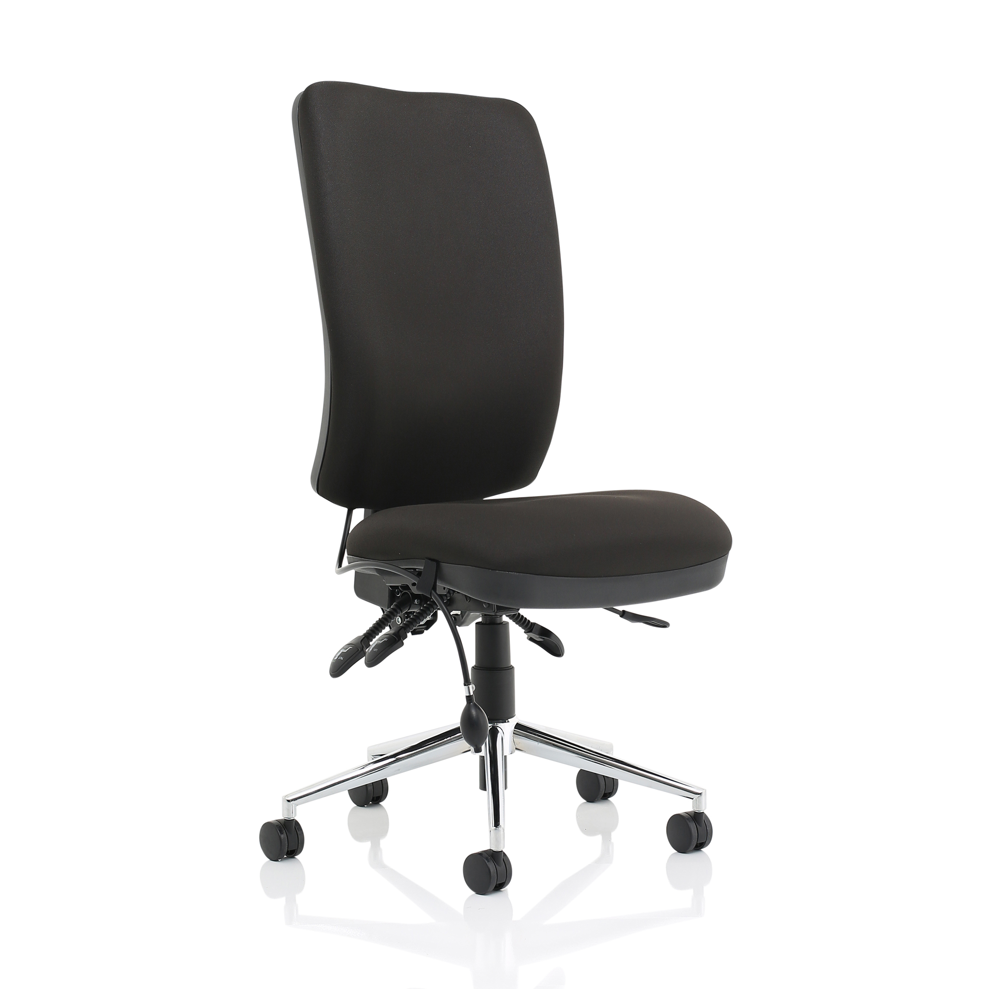 Task seating Sonix Chiro High Back No Arms Black Ref OP000245