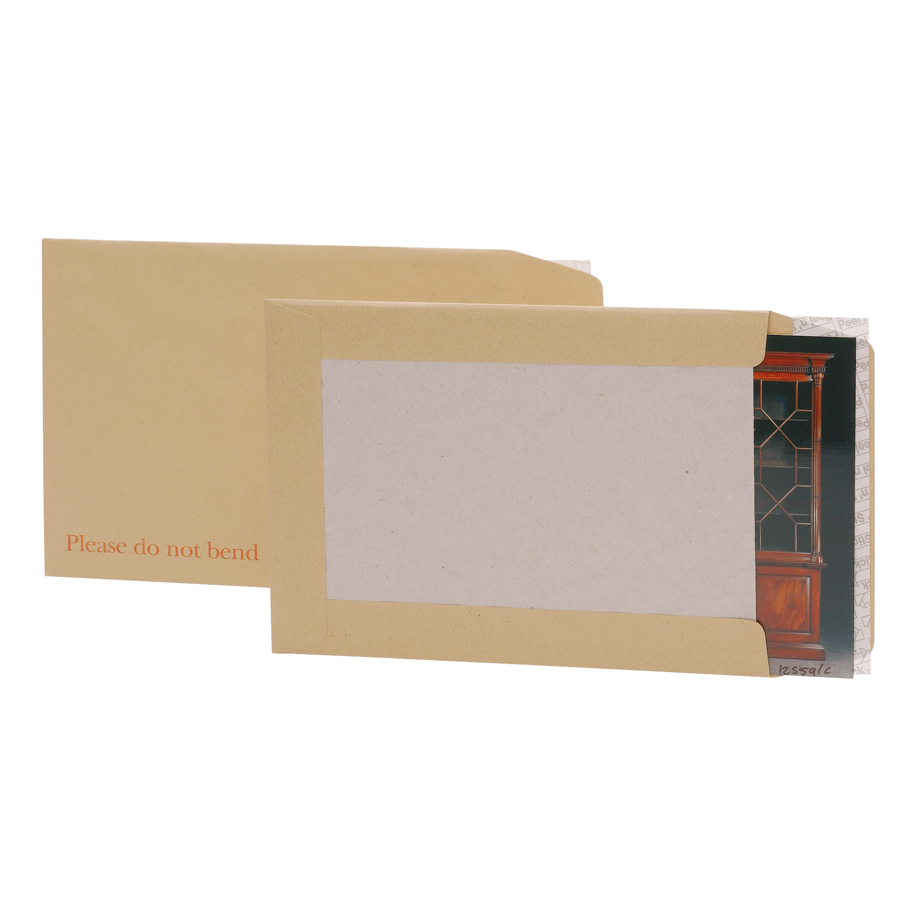5 Star Office Envelopes Recycled Board Backed Hot Melt Peel & Seal 241x178mm 120gsm Manilla Pack 125