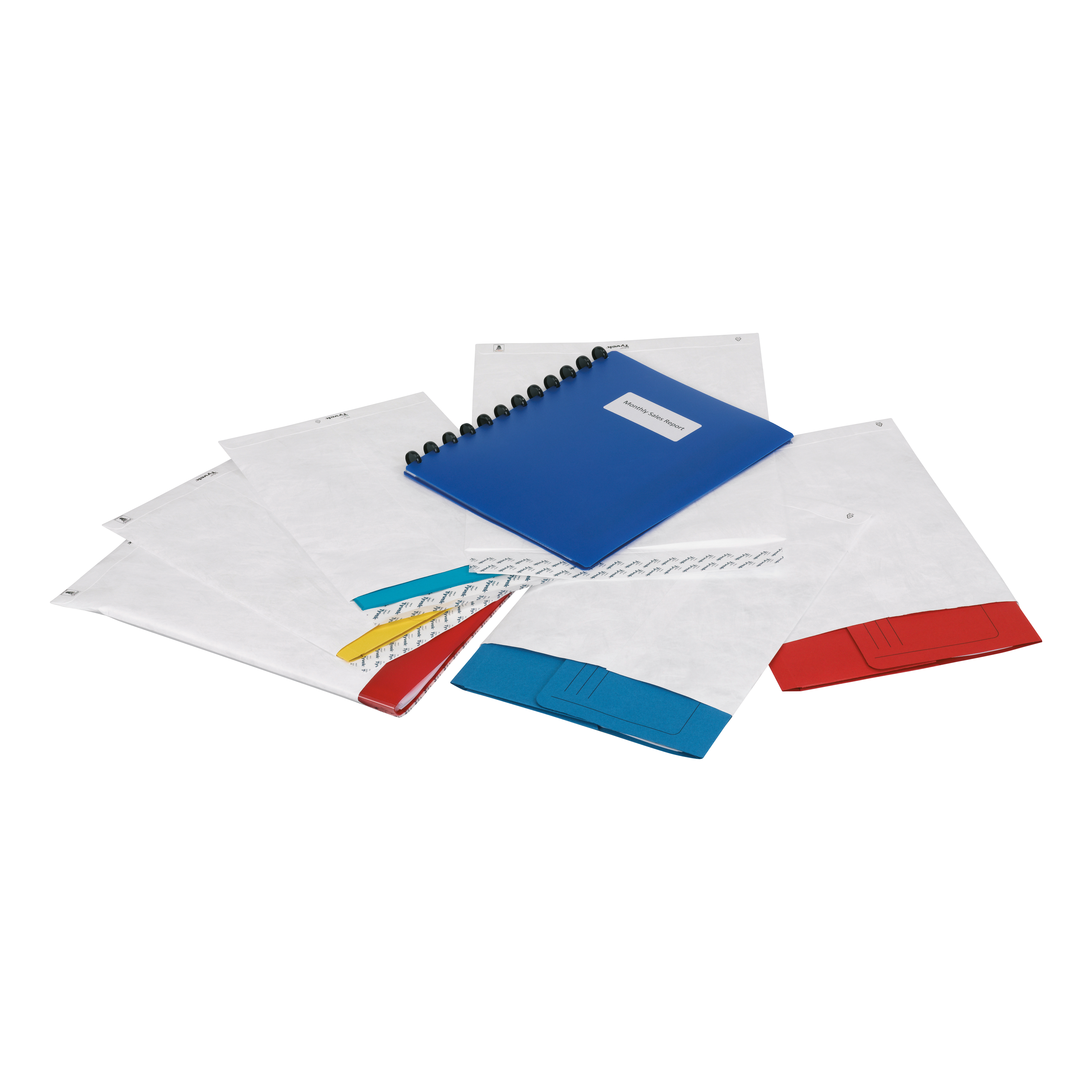 Tyvek Pocket Envelopes Strong Lightweight D4 381x250mm 55gsm Peel & Seal White Ref 11798 [Pack 100]
