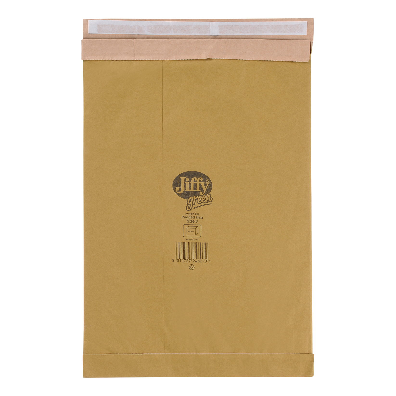 Jiffy Padded Bag Envelopes Peel and Seal Size 6 295x458mm Brown Ref JPB-6 Pack 50