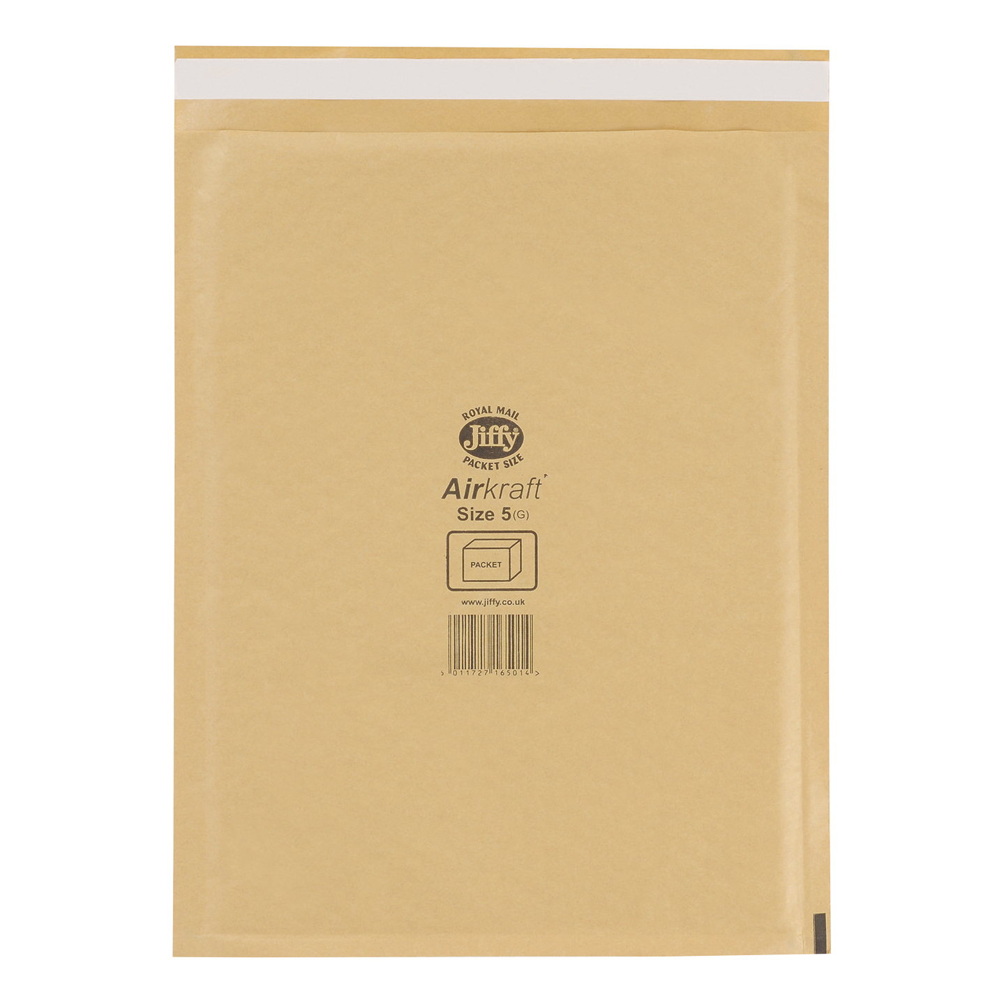 Padded Bags & Envelopes Jiffy Airkraft Bubble Bag Envelopes Size 5 Gold 260x345mm Ref JL-GO-5 [Pack 50]