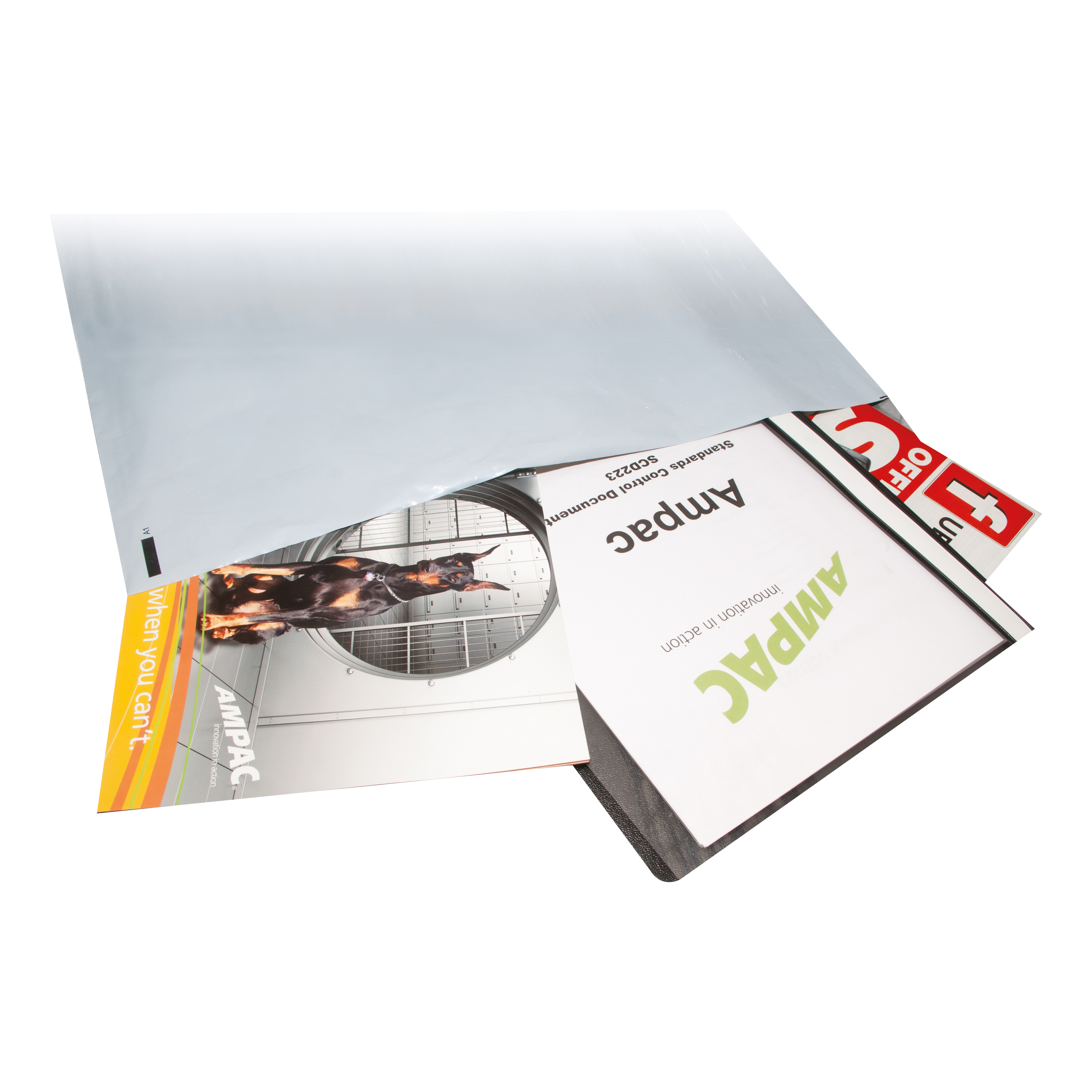 Keepsafe Envelope Extra Strong Polythene Opaque DX W400xH430mm Peel & Seal Ref KSV-MO5 Box 100