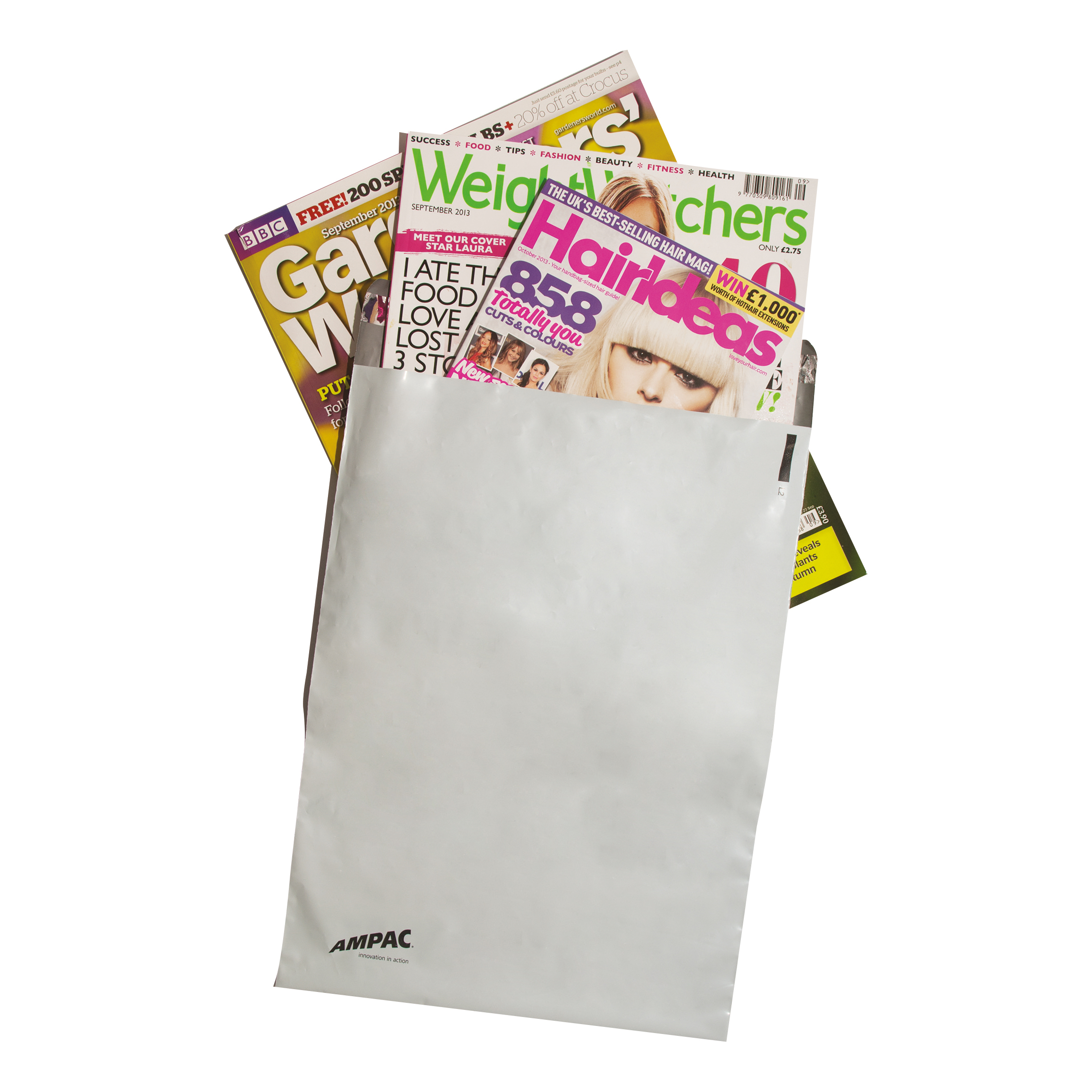 Keepsafe LightWeight Envelope Polythene Opaque C5 W162xH230mm Peel & Seal Ref KSV-L1 [Pack 100]