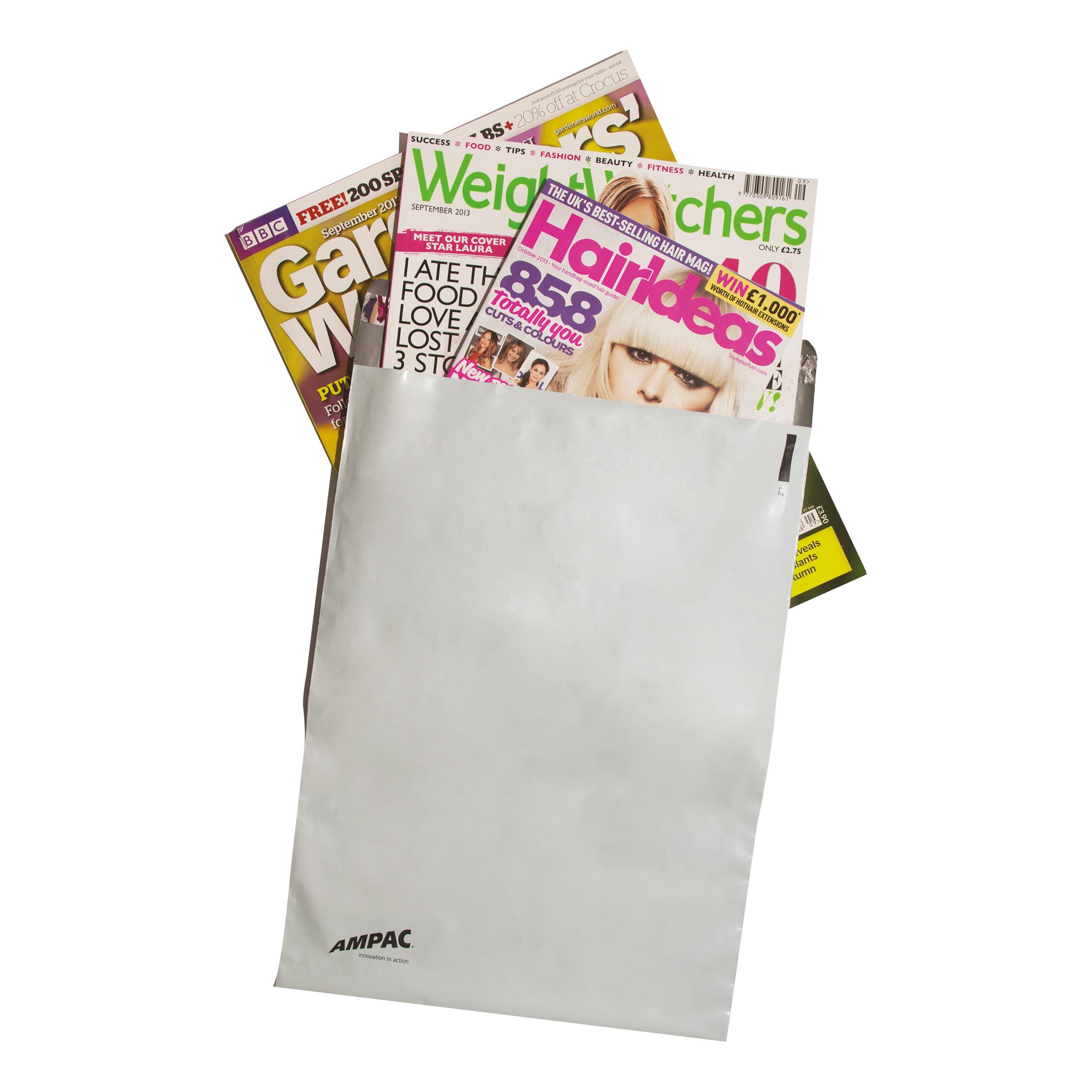 Keepsafe LightWeight Envelope Polythene Opaque DX W440xH320mm Peel & Seal Ref KSV-L4 Pack 100