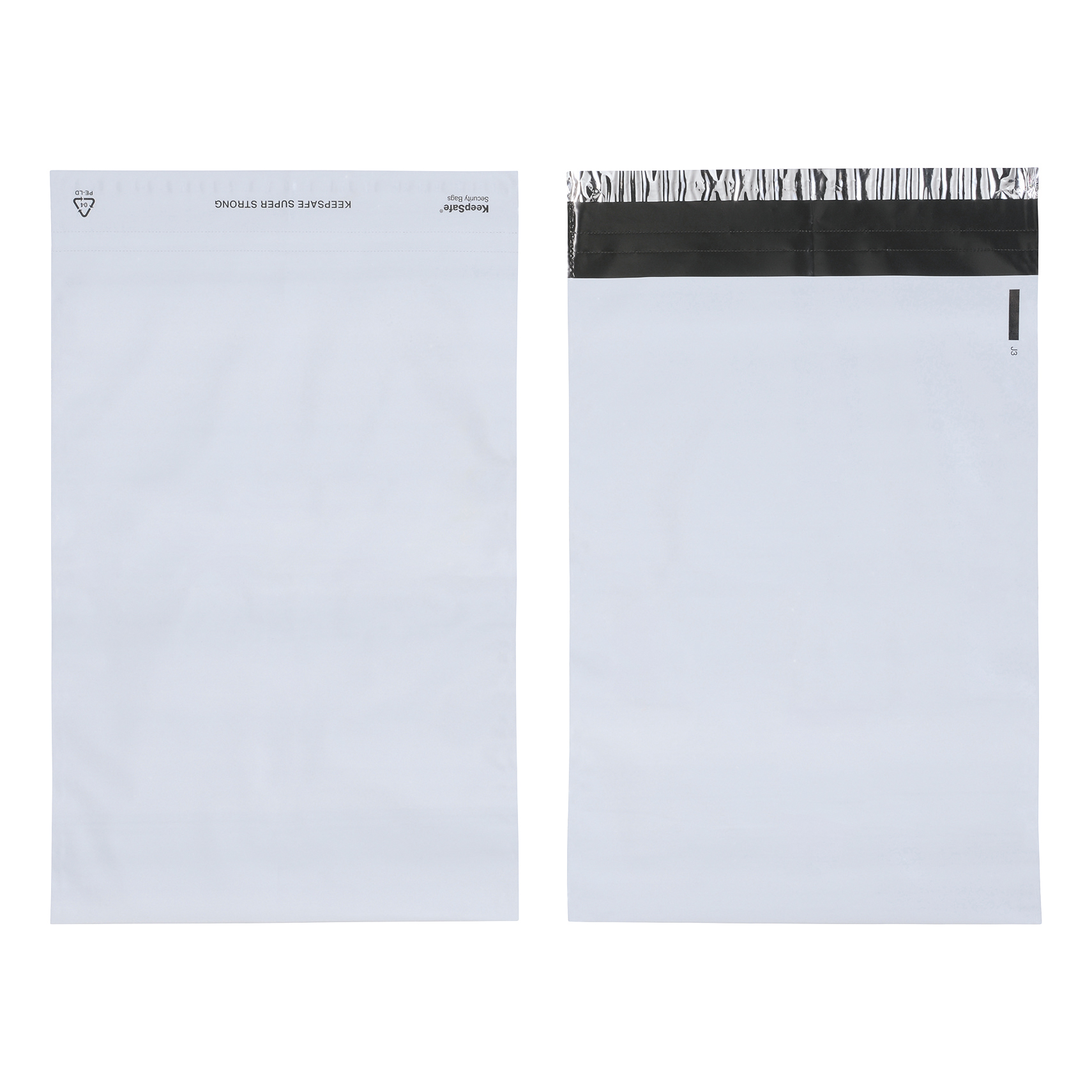 Keepsafe SuperStrong Envelope Polythene Opaque C4 W230xH320mm Peel & Seal Ref KSV-SS2 Pack 100