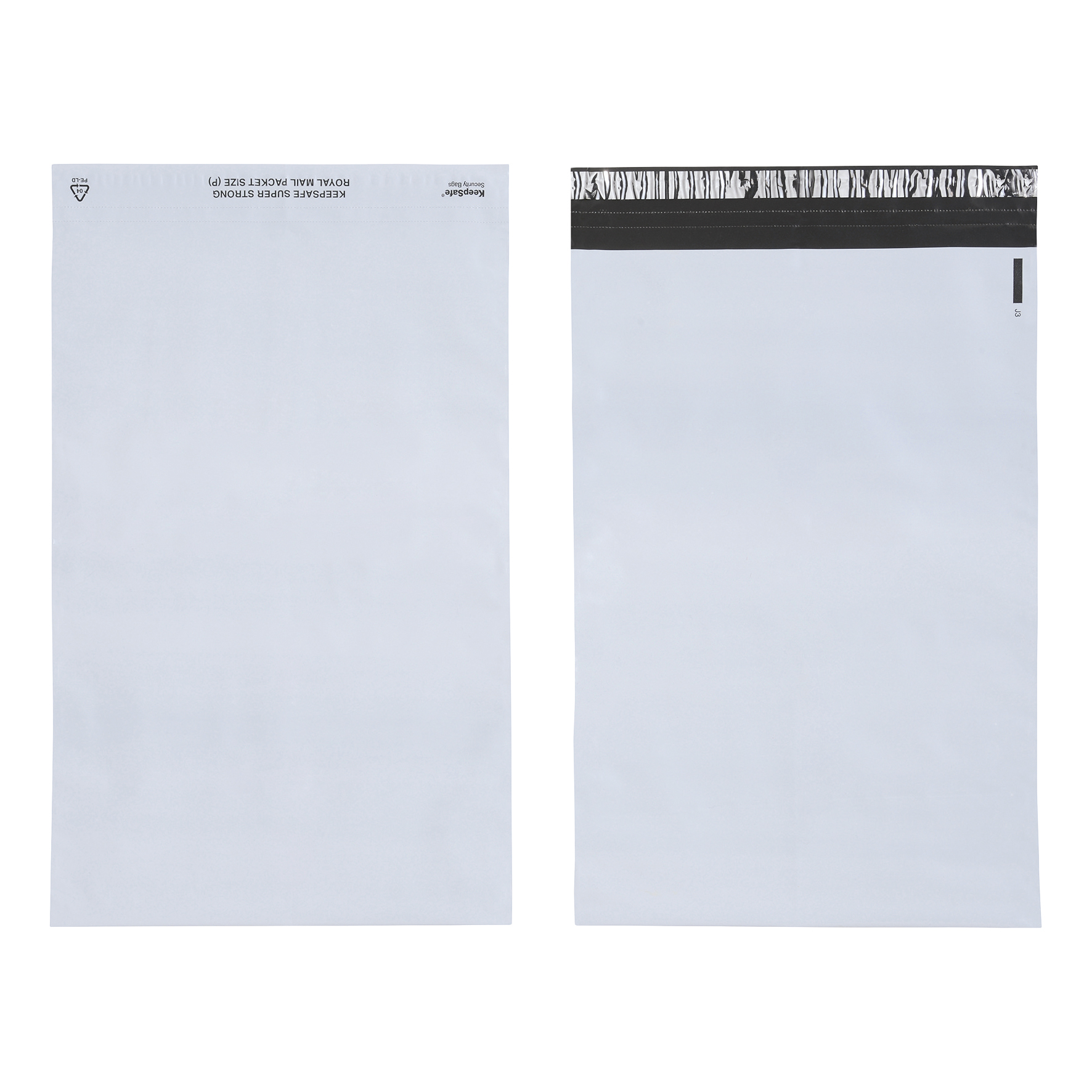 Keepsafe SuperStrong Envelope Polythene Opaque D4 W260xH380mm Peel & Seal Ref KSV-SS4 Pack 100