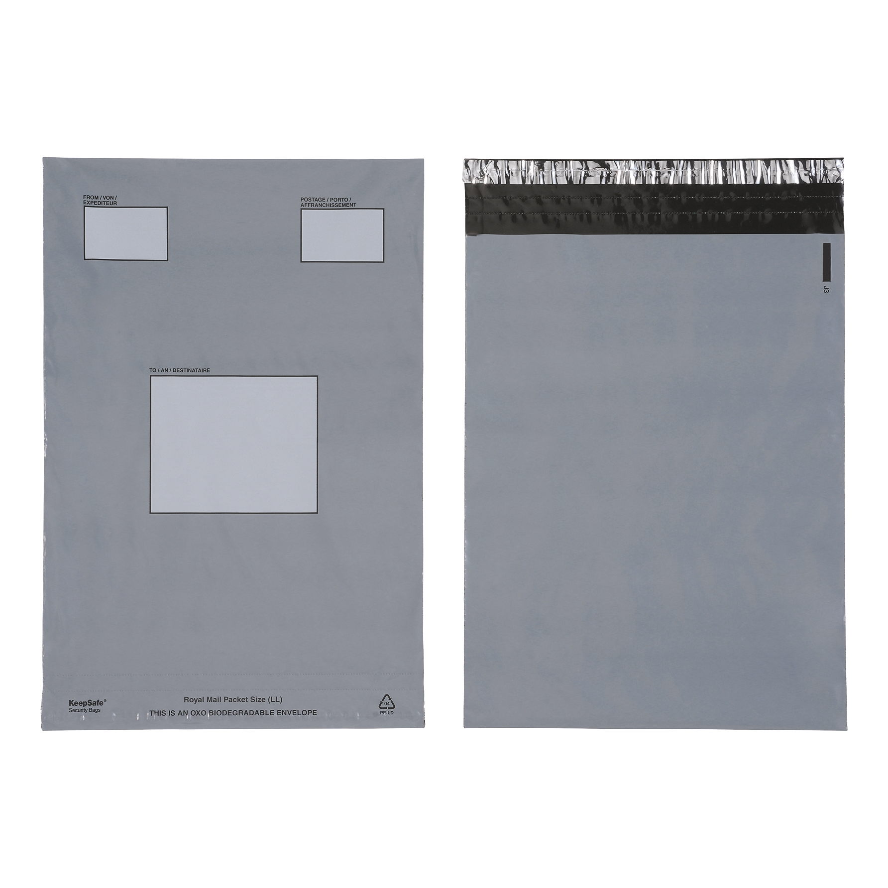 Keepsafe Biodegradable Extra Strong Envelope Opaque 240x320mm Peel & Seal Ref KSV-BIO2 Pack 100