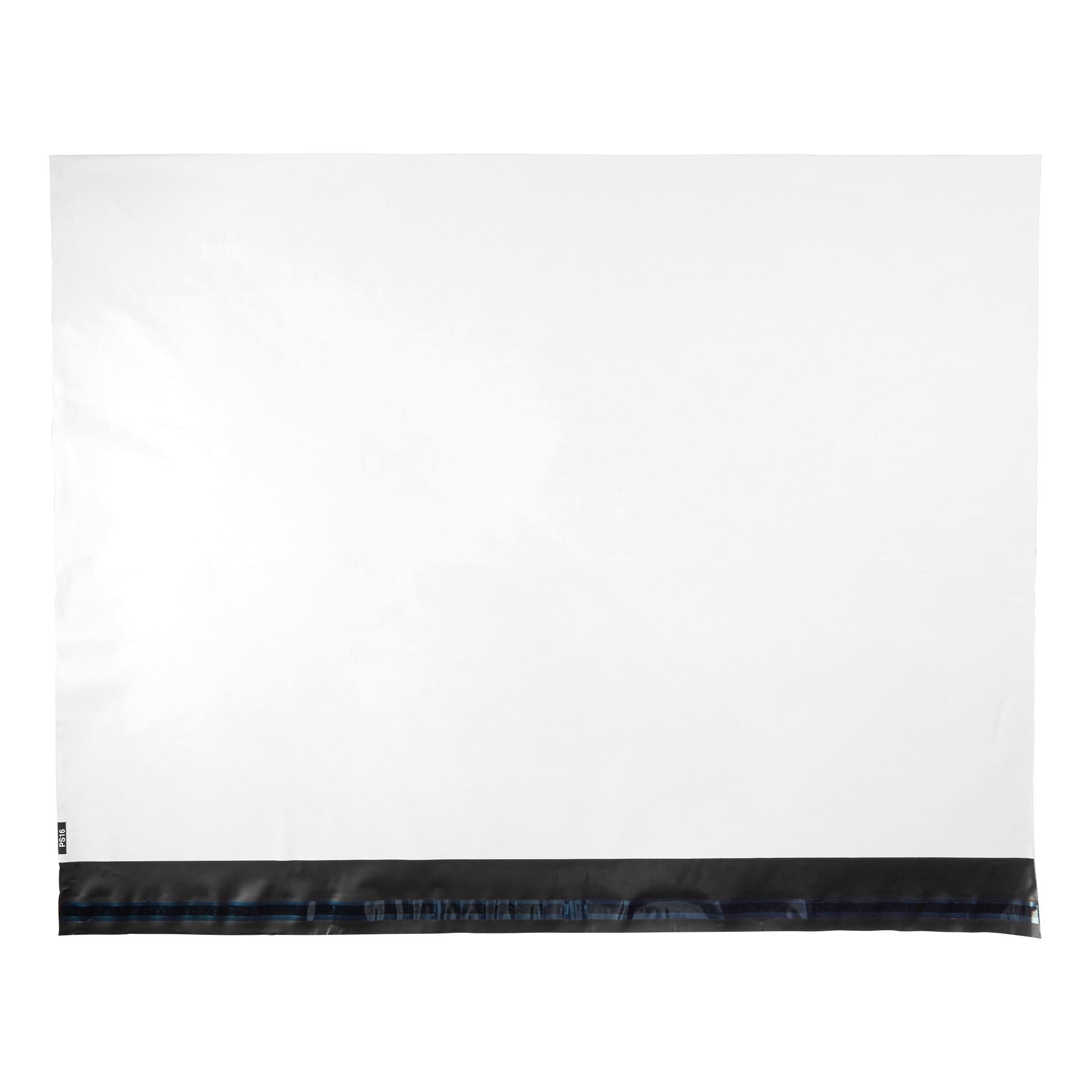 5 Star Elite Envelopes ExtraStrong Waterproof Polythene Peel & Seal Opaque 600x430mm&50mm Flap Pack 100