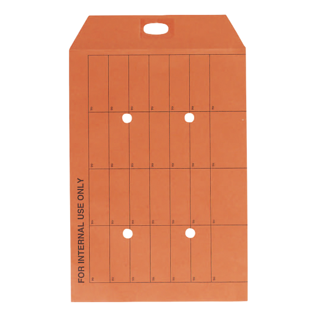 5 Star Office Envelopes Internal Mail Pocket Resealable 120gsm C4 324x229mm Manilla Orange [Pack 250]