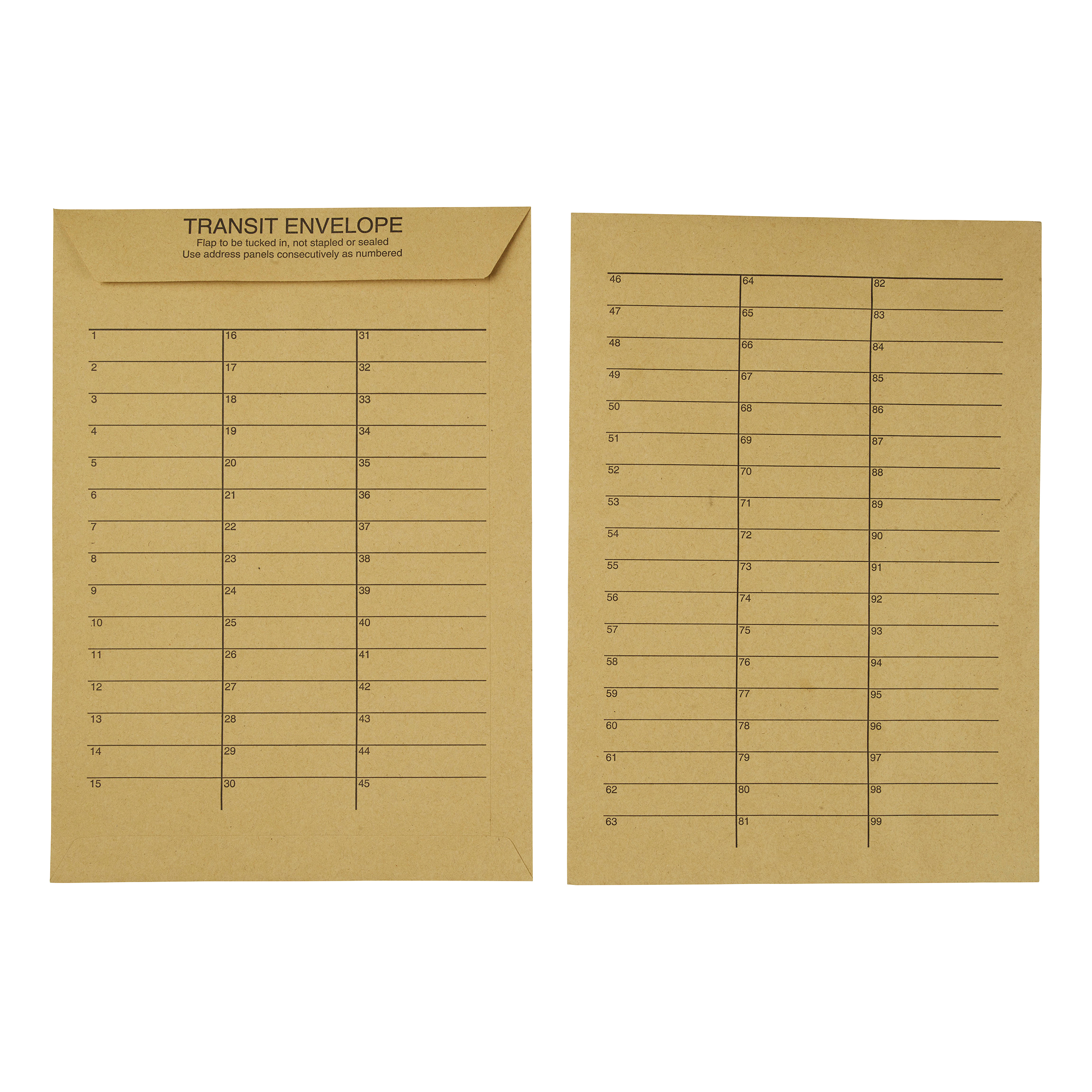 5 Star Office Envelopes Internal Mail Pocket Resealable 90gsm C4 324x229mm Manilla Pack 250