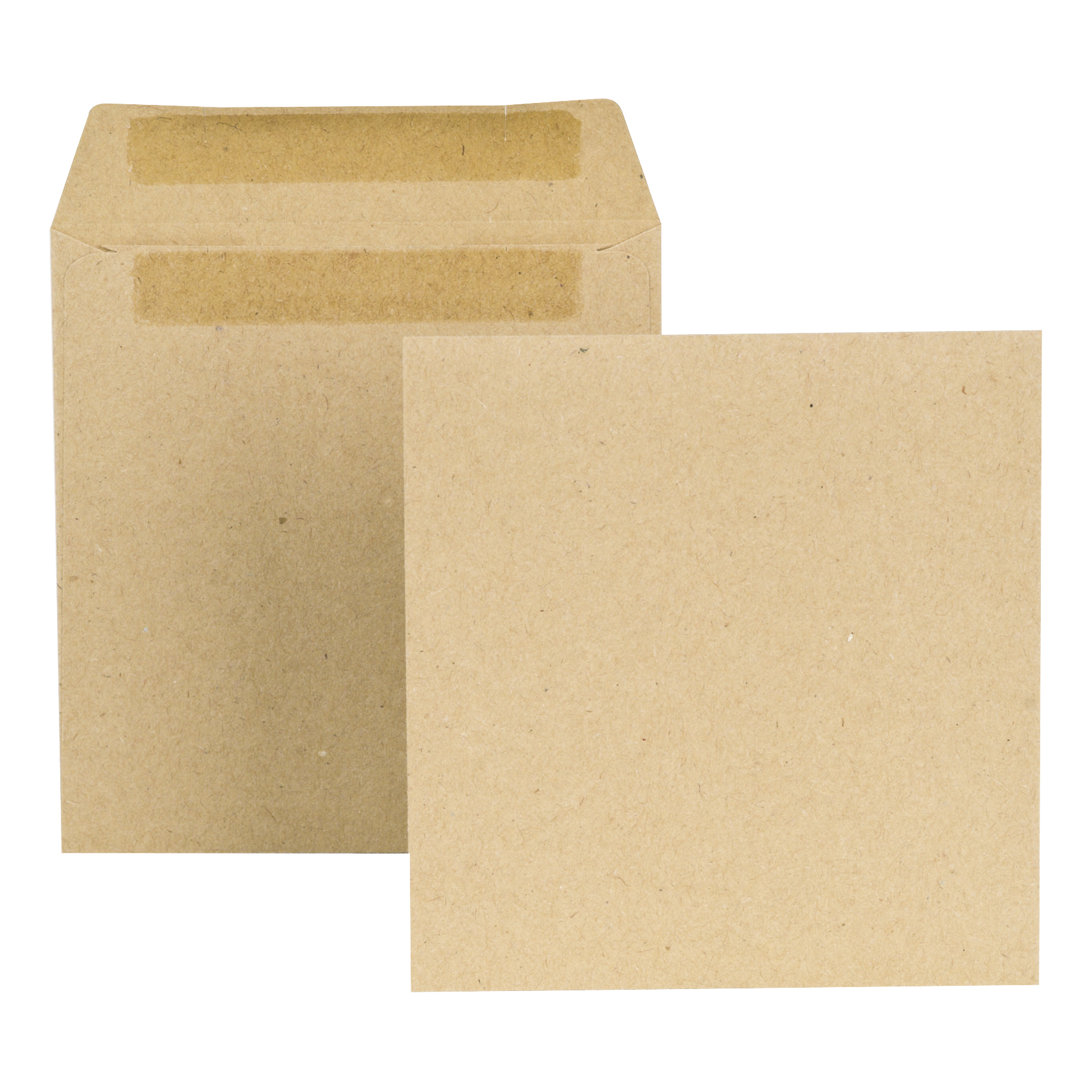 New Guardian Envelopes FSC Wage Pocket Self Seal Med Weight 80gsm 108x102mm Plain Manilla Pack 1000