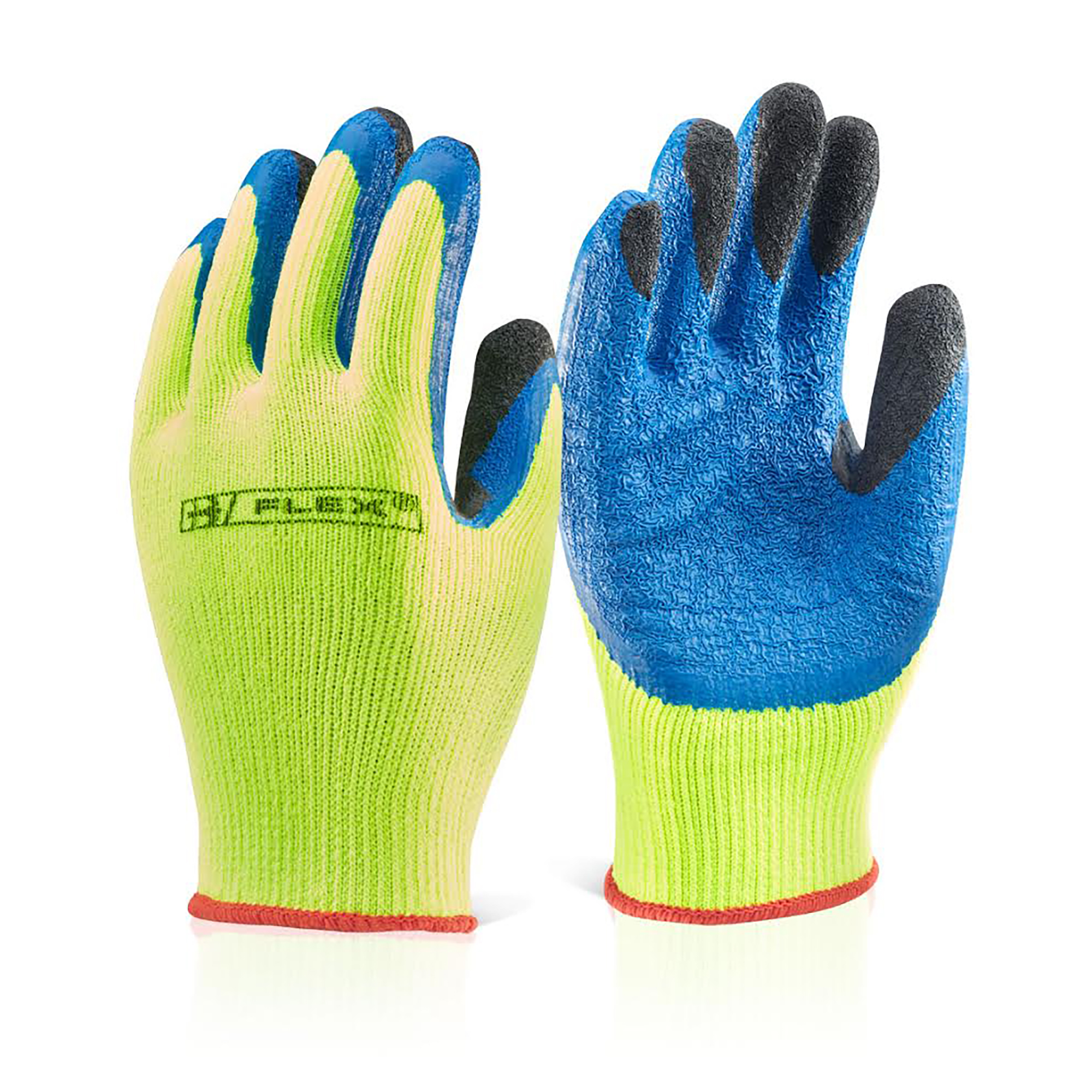 B-Flex Latex Thermo-Star Fully Dipped Glove Yellow Size 10 Ref BF3SY10 Up to 3 Day Leadtime