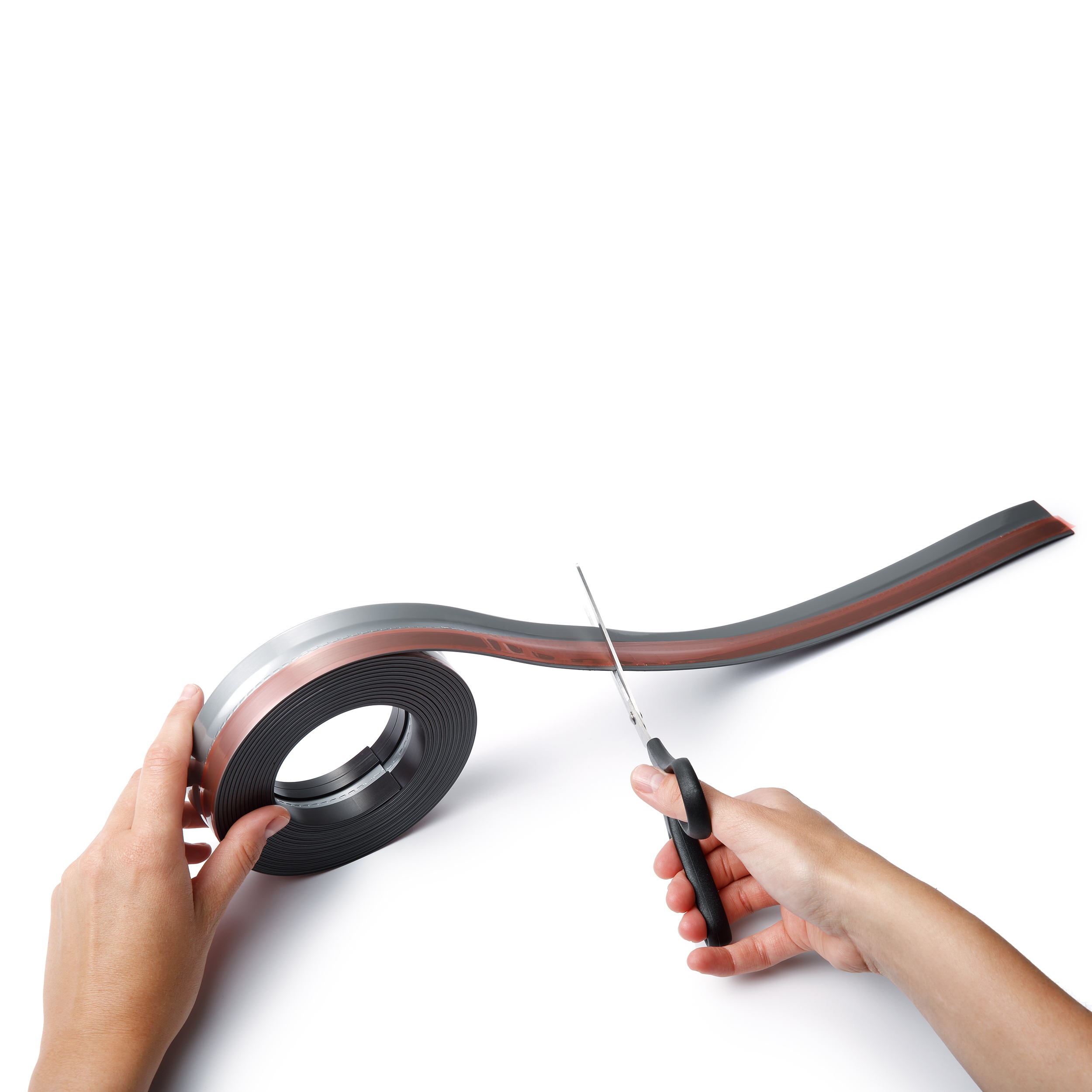 Durable DURAFIX Roll Magnetic Self-Adhesive 5 metres Black Ref 470801