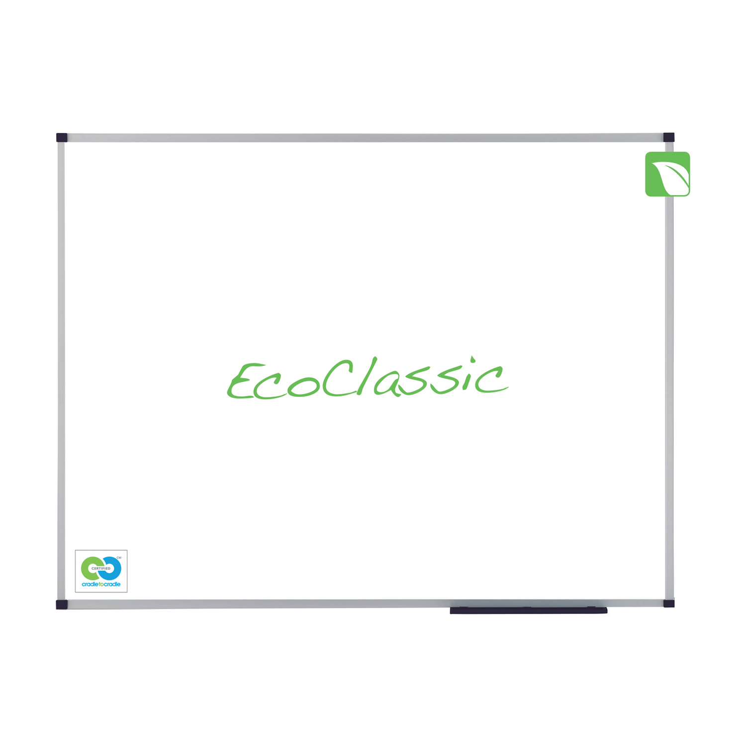Magnetic Nobo Classic Enamel Eco Whiteboard Magnetic Fixings Included W900xH600mm White Ref 1905235