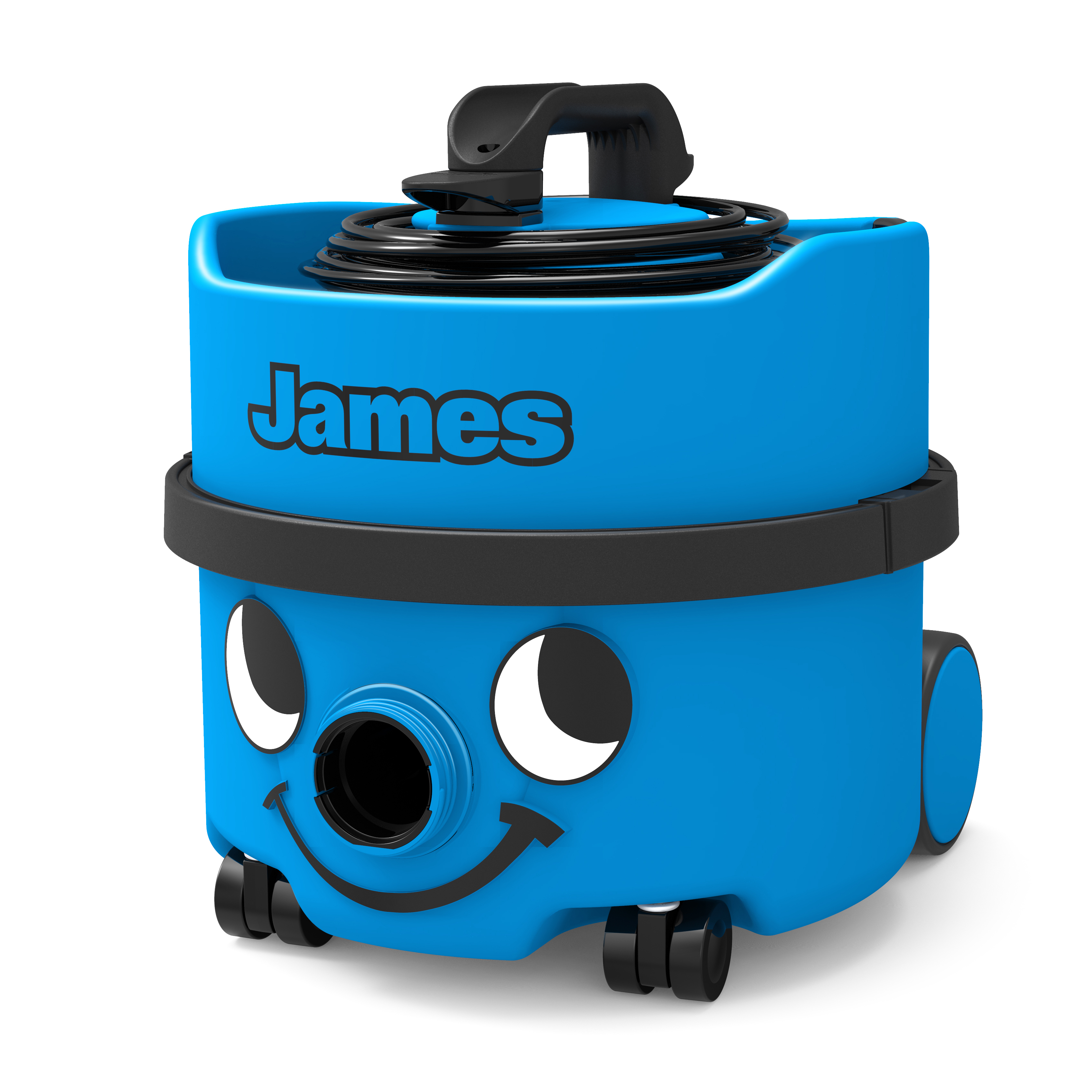 Numatic James Vacuum Cleaner 500-800W 8 Litre 7Kg Blue Ref 909392