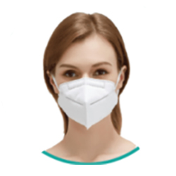 KN95 FFP2 5 ply face mask, individually wrapped