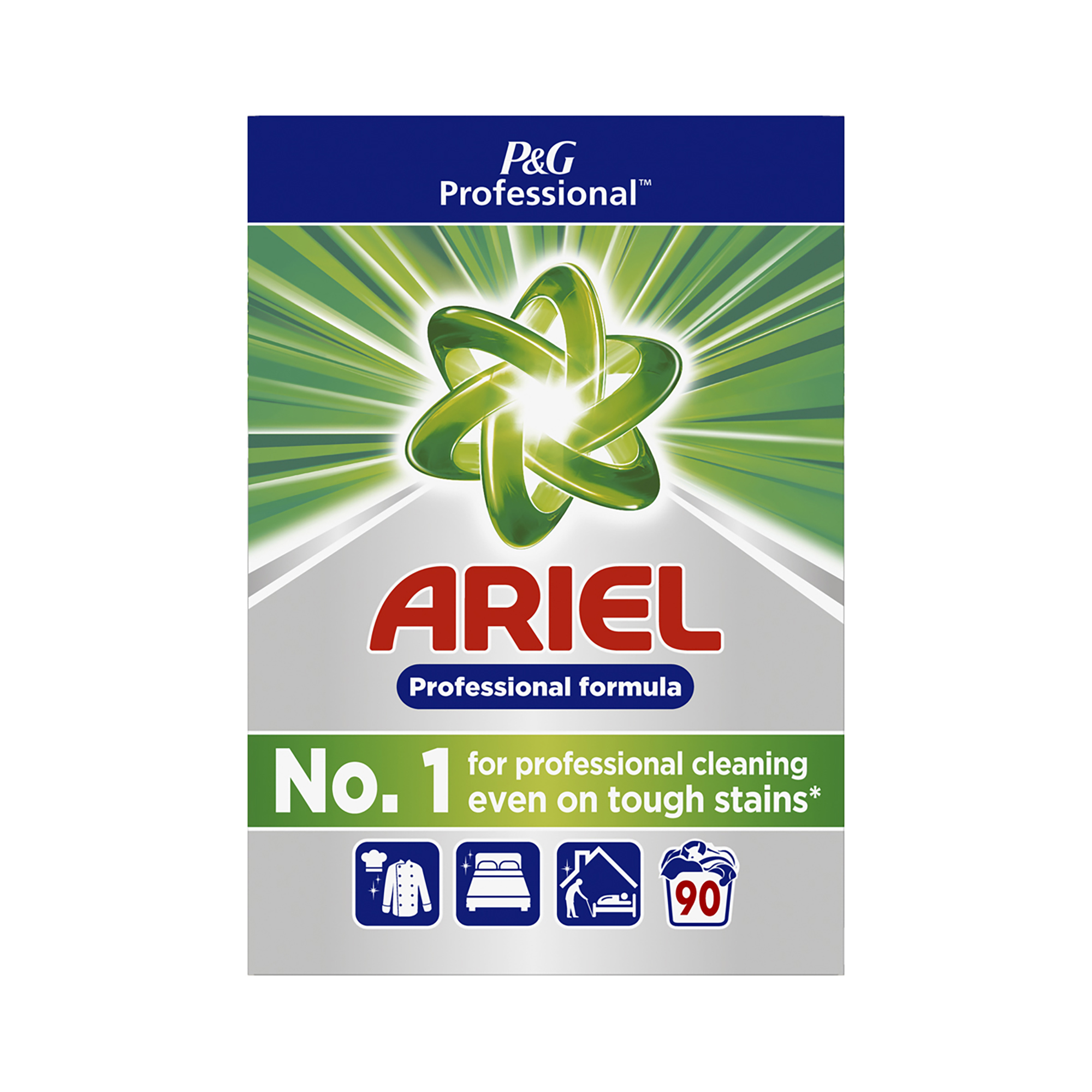 Disinfectant Wipes Ariel Professional Washing Powder Deep Cleaning 90 washes Ref 75108