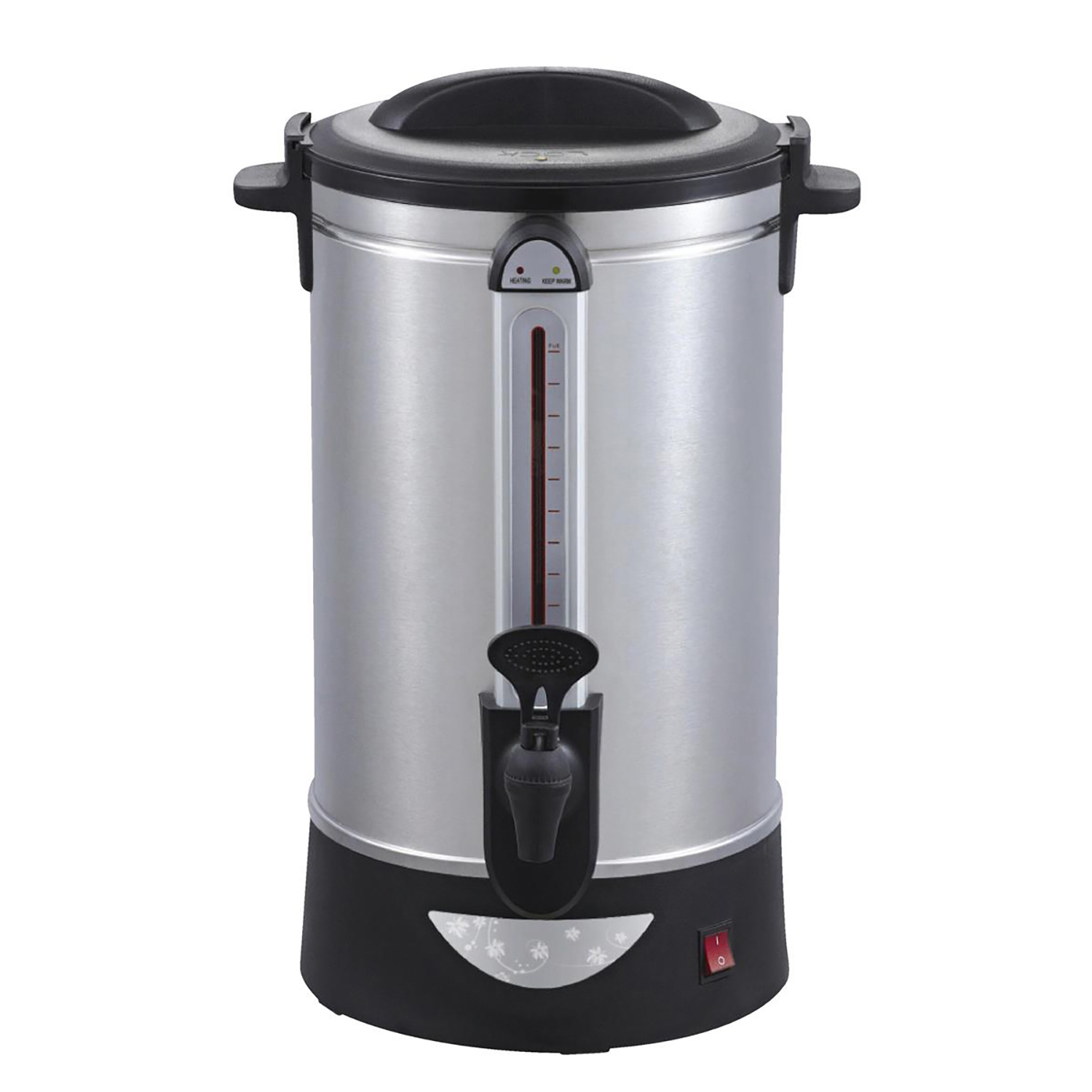 Flasks / Jugs / Urns 5 Star Facilities Catering Urn Locking Lid Water Gauge Boil Dry Overheat Protection 2500W 30 Litre