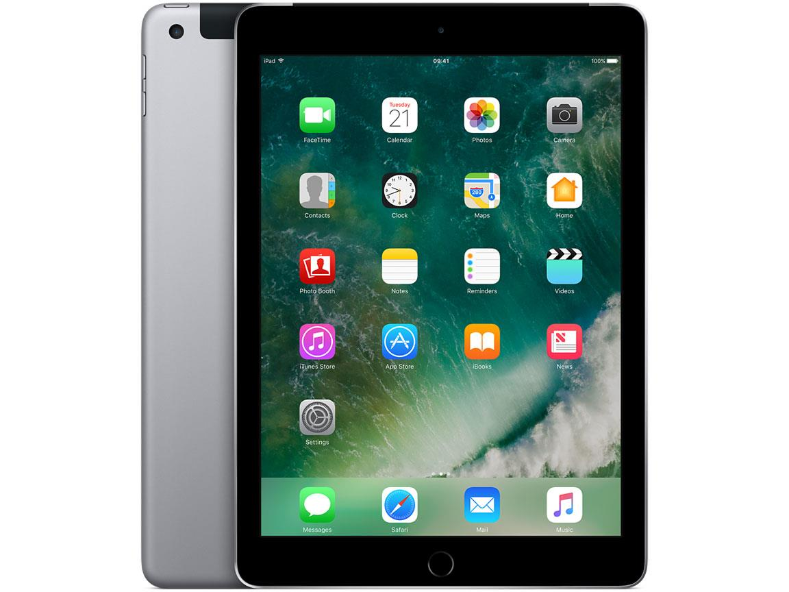 Image for Apple iPad Cellular Wi-Fi 32GB 8Mp Camera Touch ID Space Grey Ref MP242B/A