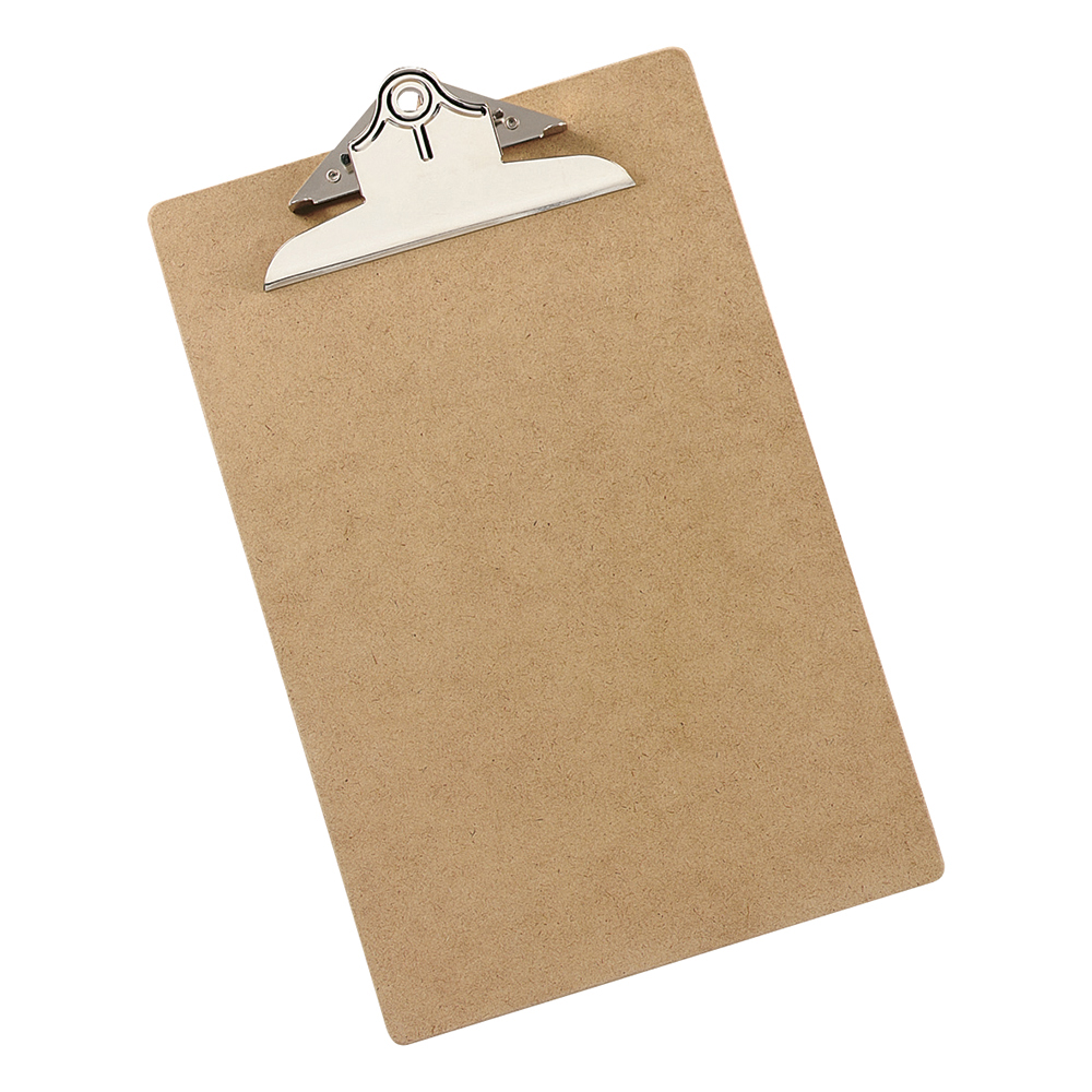 Business Clipboard Rigid Hardboard Foolscap