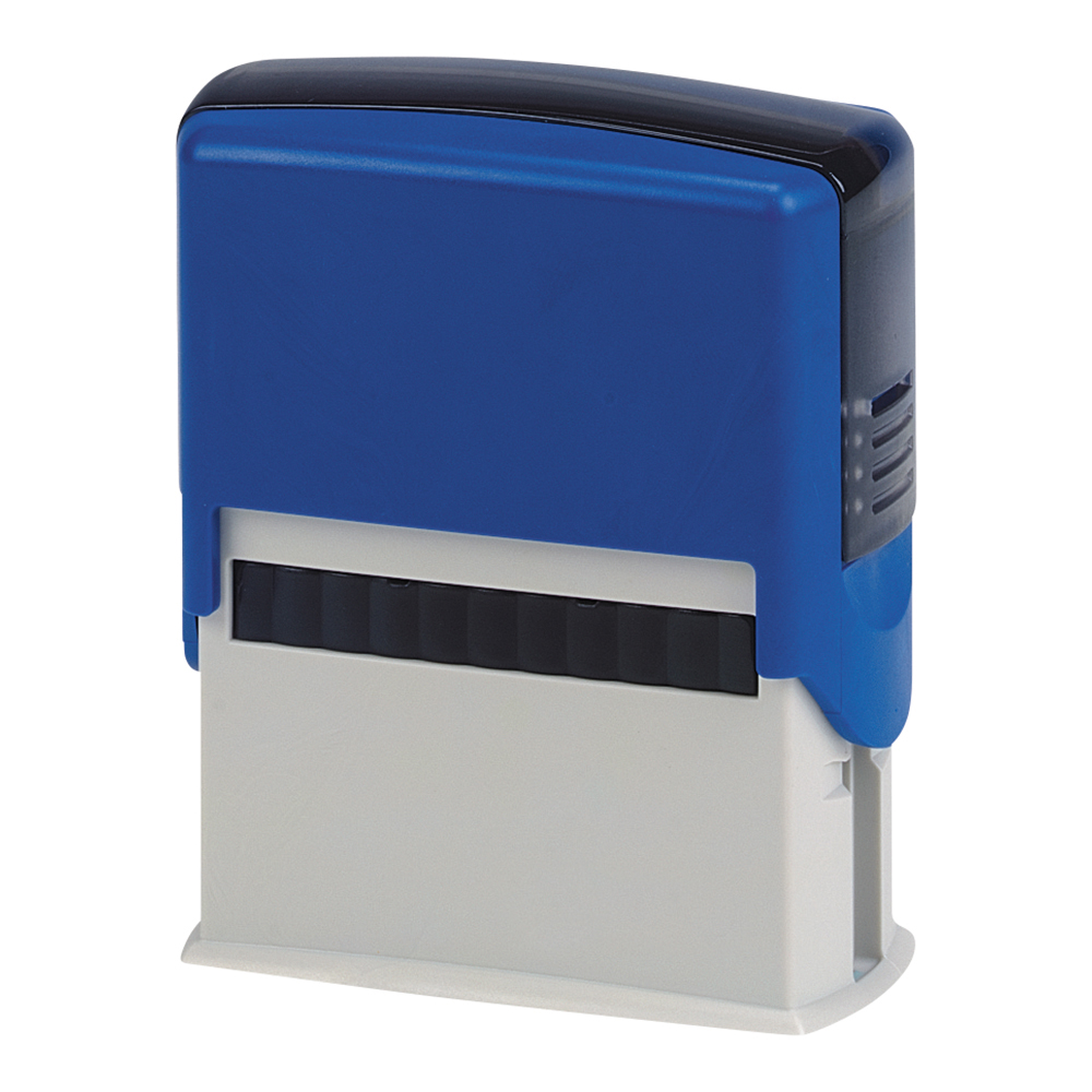 Business Custom Self-Inking Imprinter Stamp 40x15mm [4 lines]