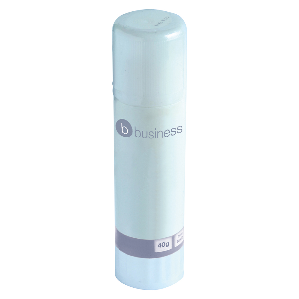 Business Glue Stick Large 40g [Pack 30]