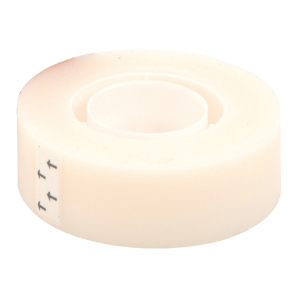 Business Invisible Matt Tape Write-on Type-on 19mm x 33m [Pack 12]