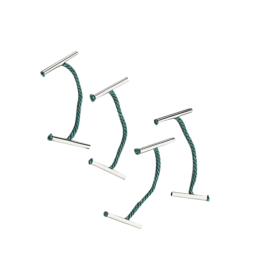 Business Treasury Tags Metal-ended 51mm Green [Pack 100]
