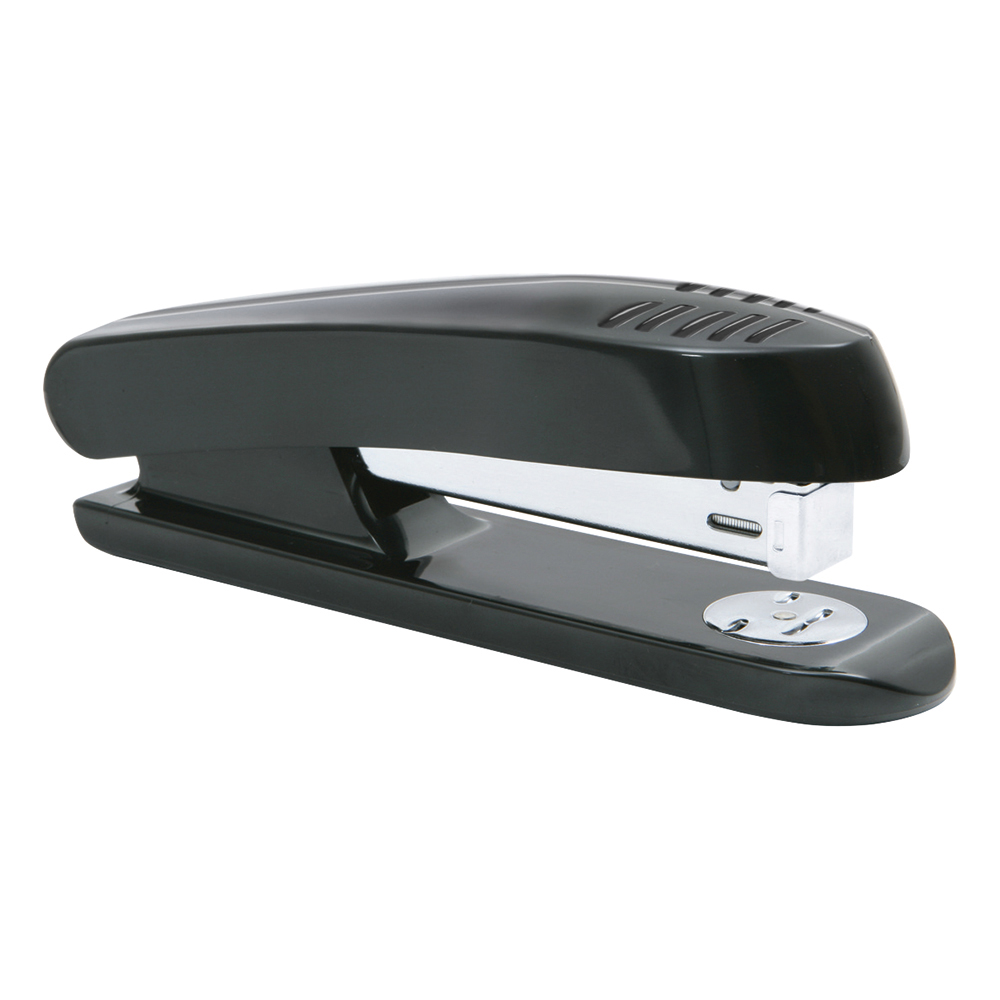 Business Stapler Full Strip Plastic Capacity 20 Sheets Black