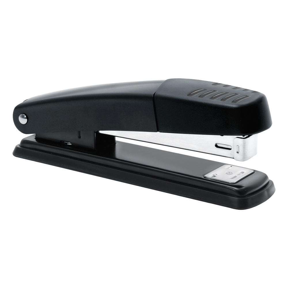 Business Stapler Full Strip Metal Top and Base Top Loading Capacity 20 Sheets Black
