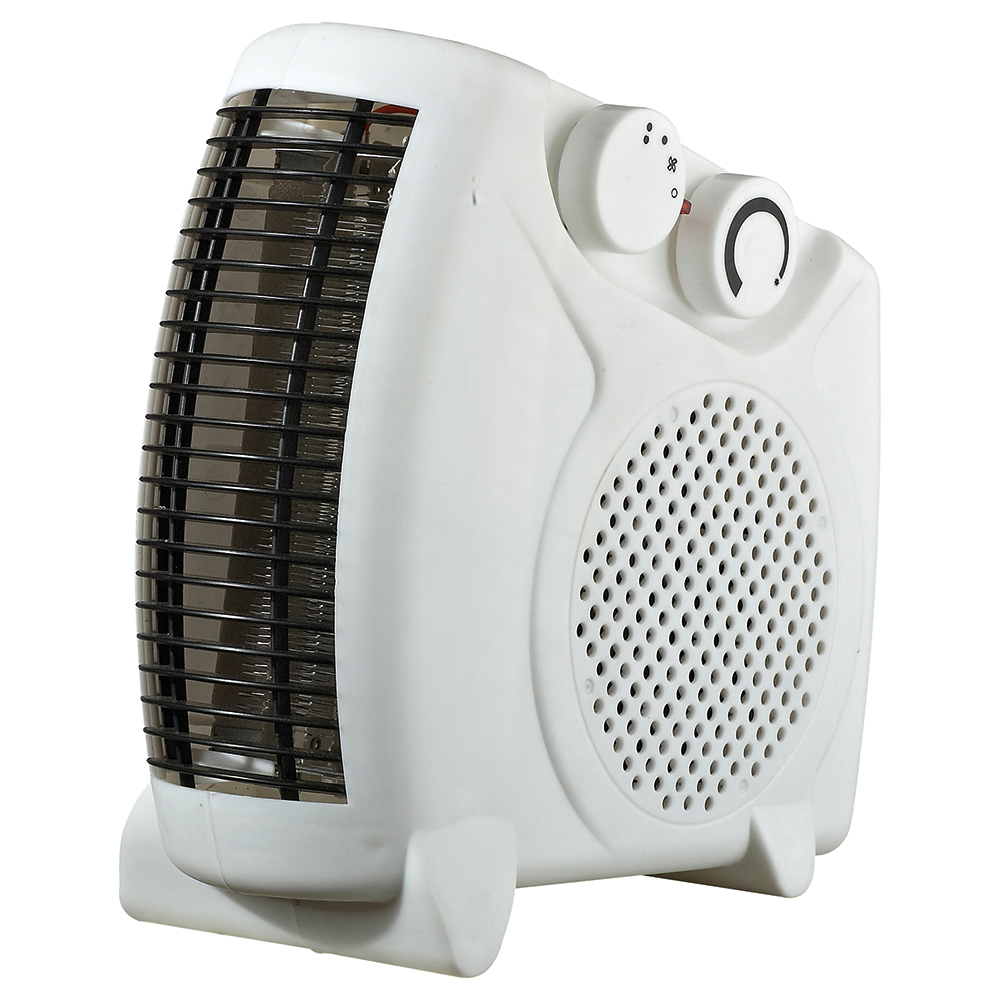 Business Fan Heater Adjustable Position 2 Heat Settings 2Kw