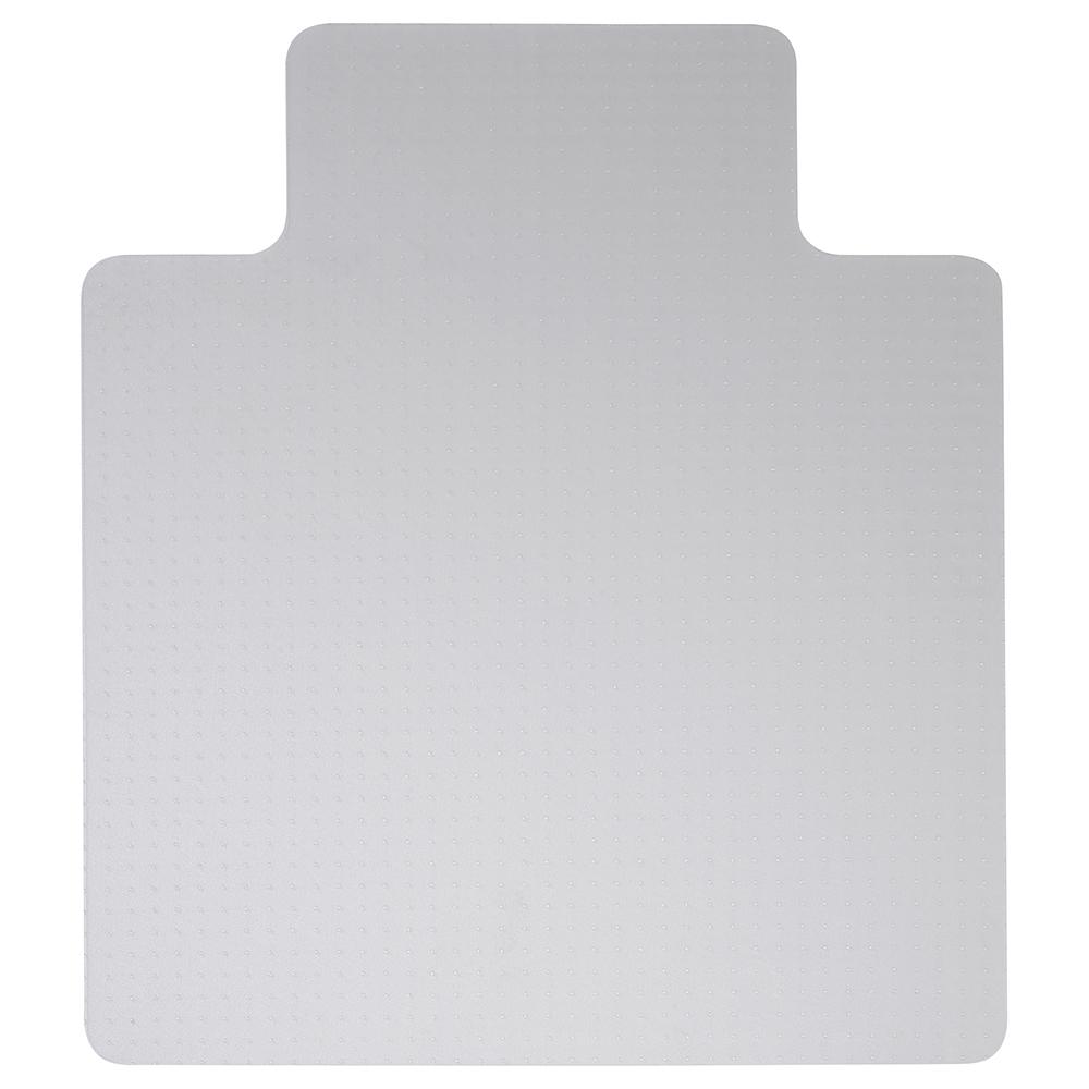 Business Chair Mat Carpet Protection PVC W900xD1200mm Clear/Transparent