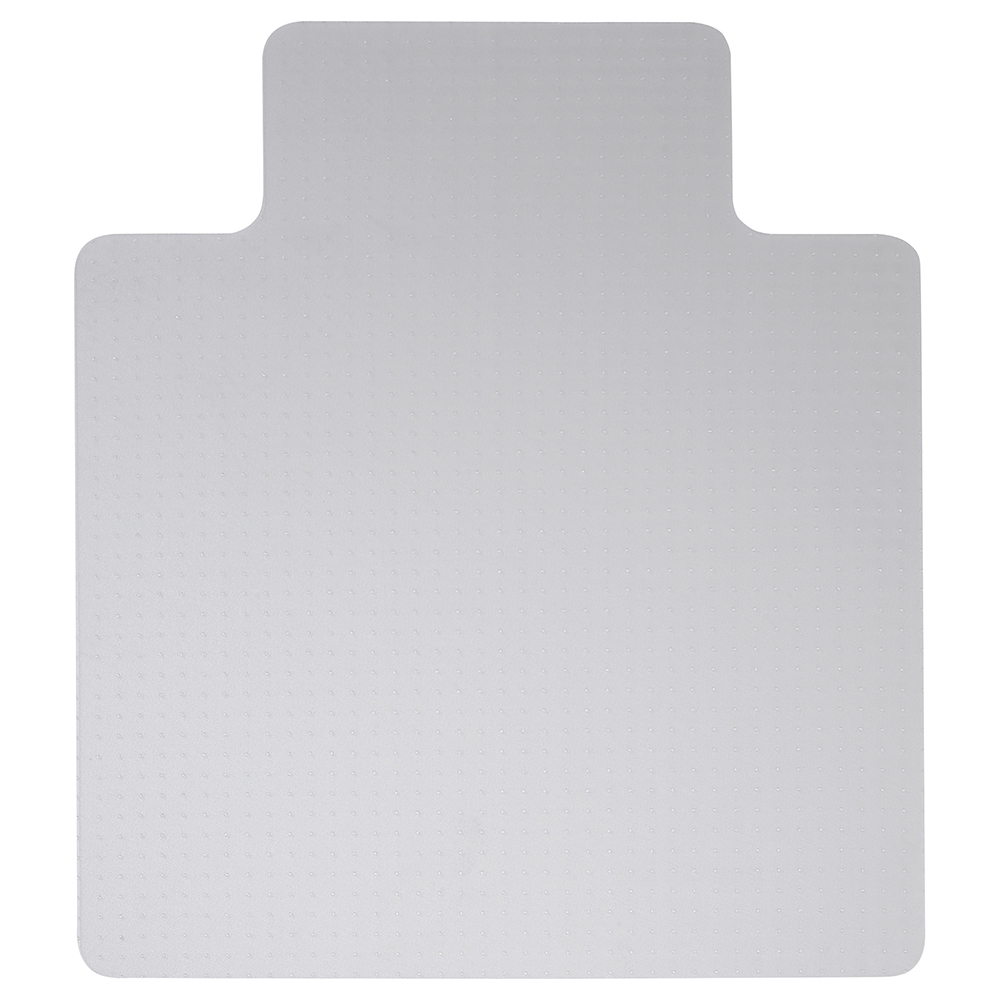 Business Chair Mat Hard Floor Protection PVC W1150xD1340mm Clear/Transparent