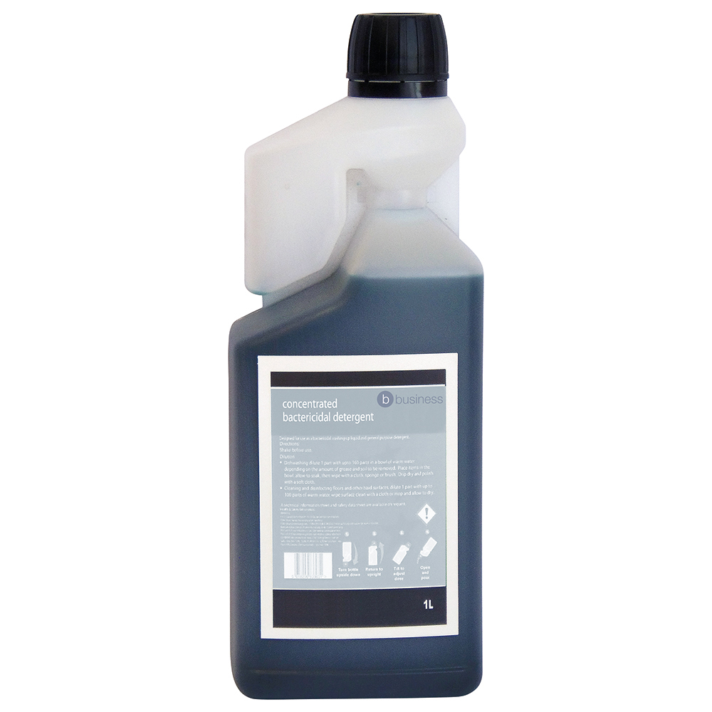 Business Concentrated Bactericidal Detergent 1 Litre