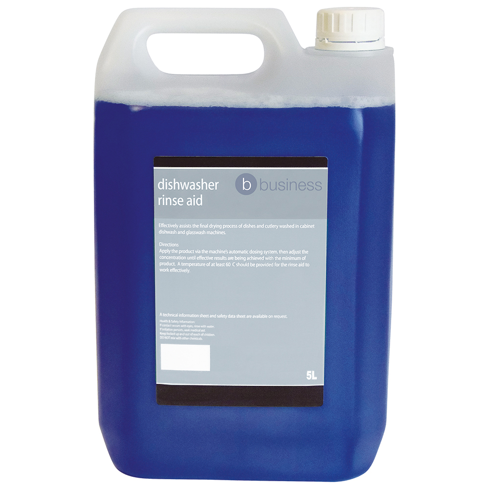 Business Dishwasher Rinse Aid 5 Litres