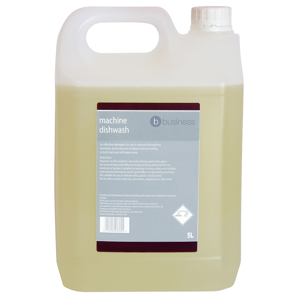 Business Machine Dishwash Detergent 5 Litres