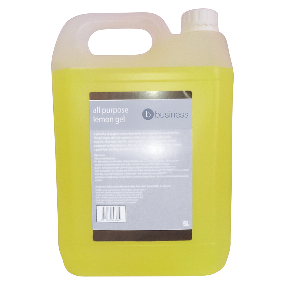 Business All Purpose Lemon Cleaning Gel 5 Litre
