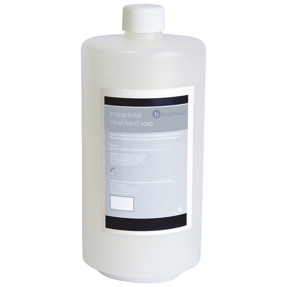Business Antibacterial Lotion Hand Soap 1 Litre