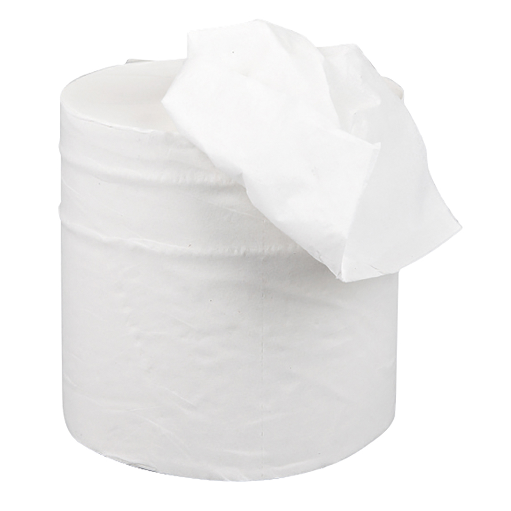 Business Centrefeed Tissue Refill for Jumbo Dispenser Two-ply L150mxW195mm White [Pack 6]