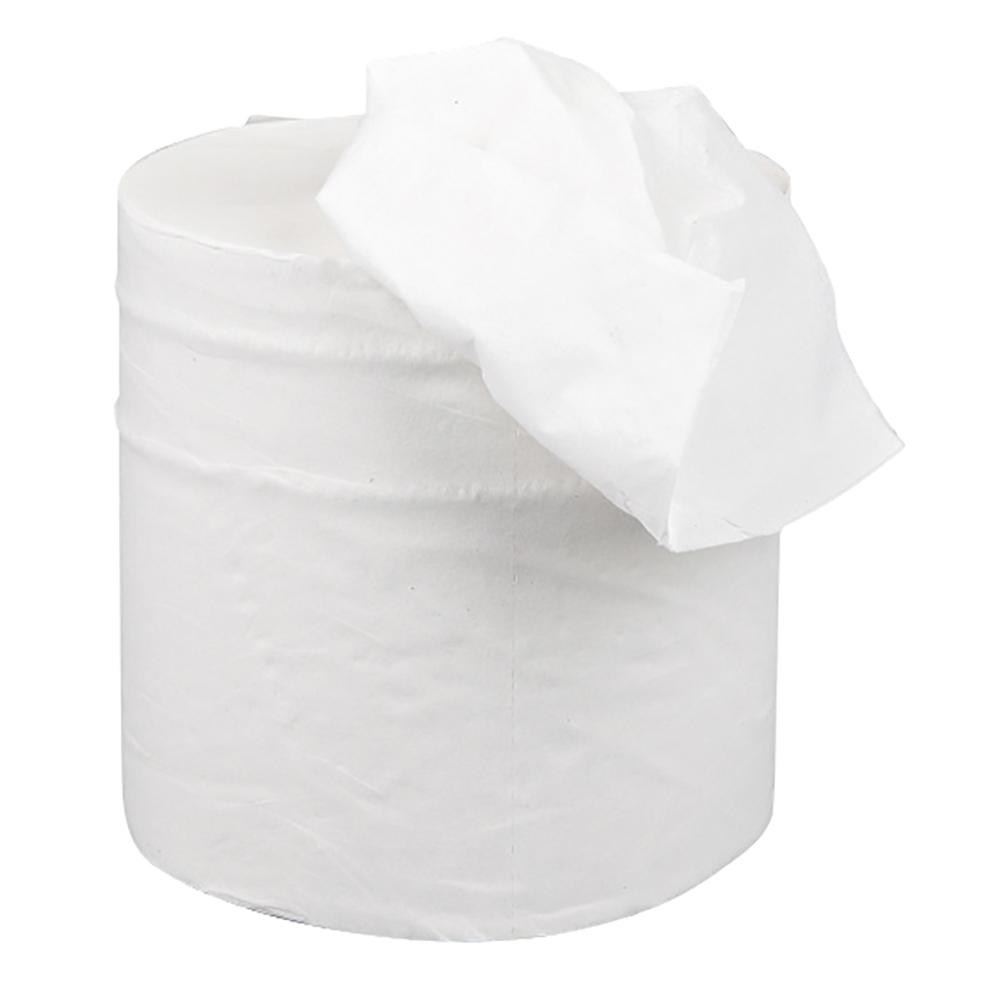 Business Centrefeed Tissue Refill for Jumbo Dispenser Two-ply L150mxW195mm White [Pack 6]