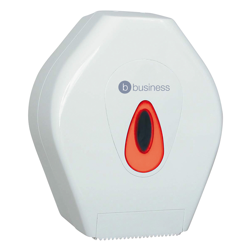 Business Mini Jumbo Roll Dispenser W220xDx145xH275mm White
