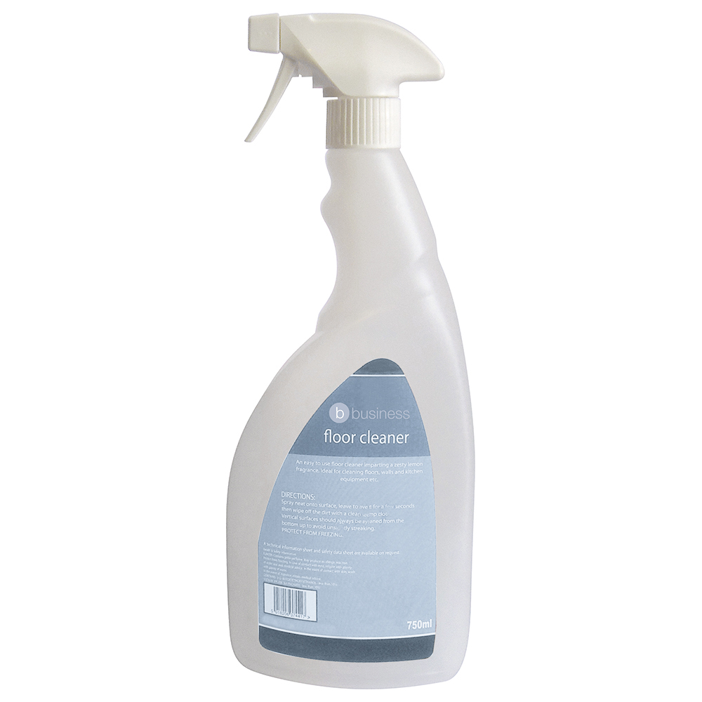 Business Empty Bottle for Concentrated Floor Cleaner Lemon 750ml