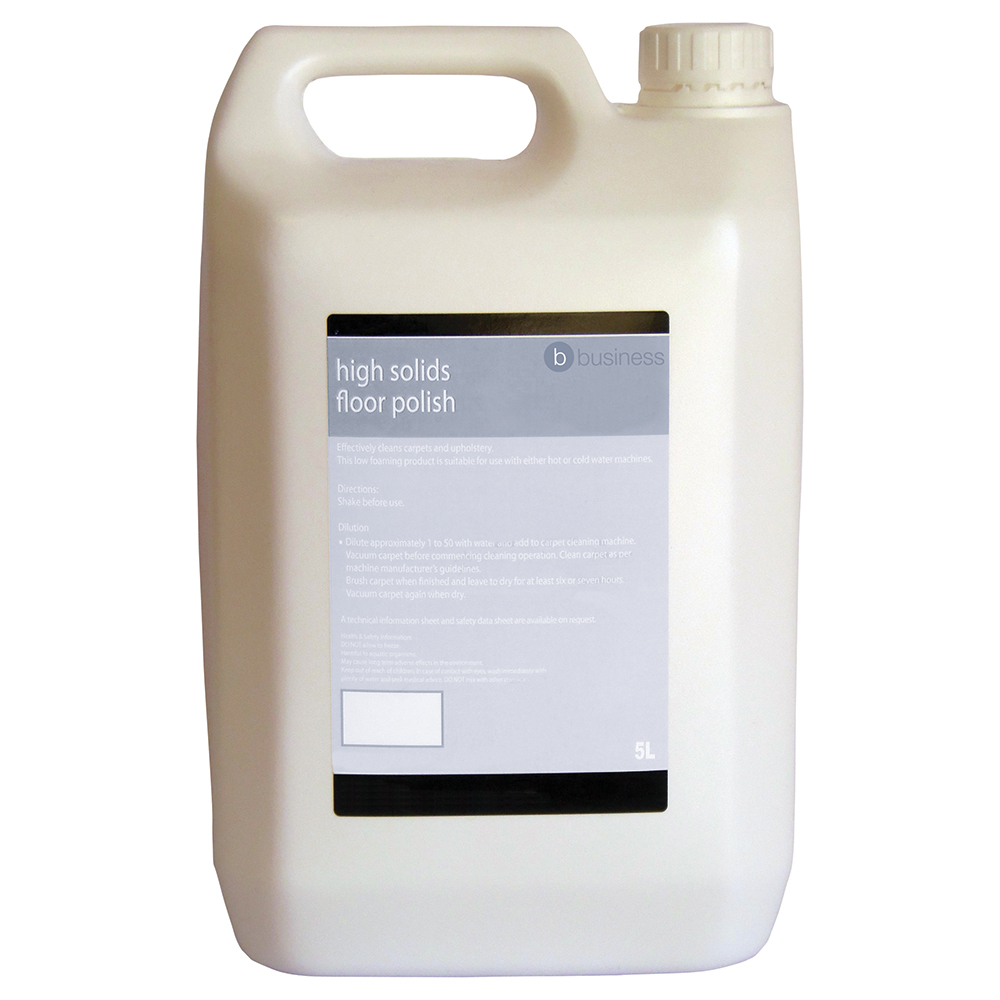 Business High Solids Floor Polish 5 Litres