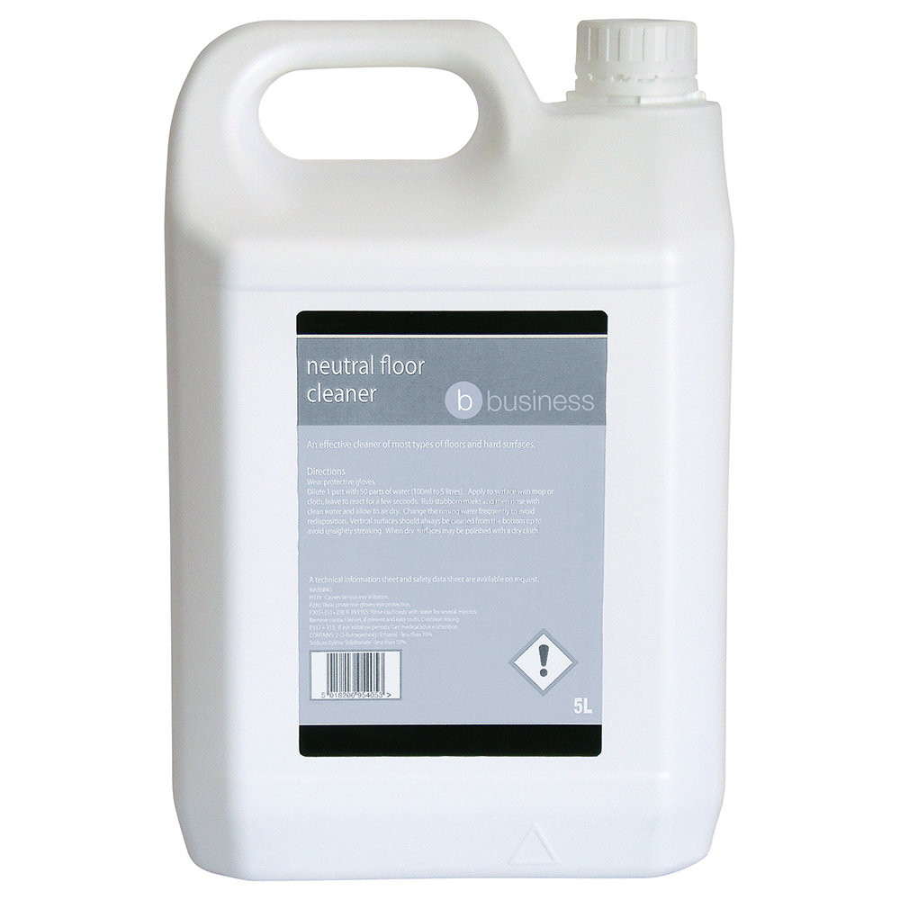 Business Neutral Floor Cleaner 5 Litre